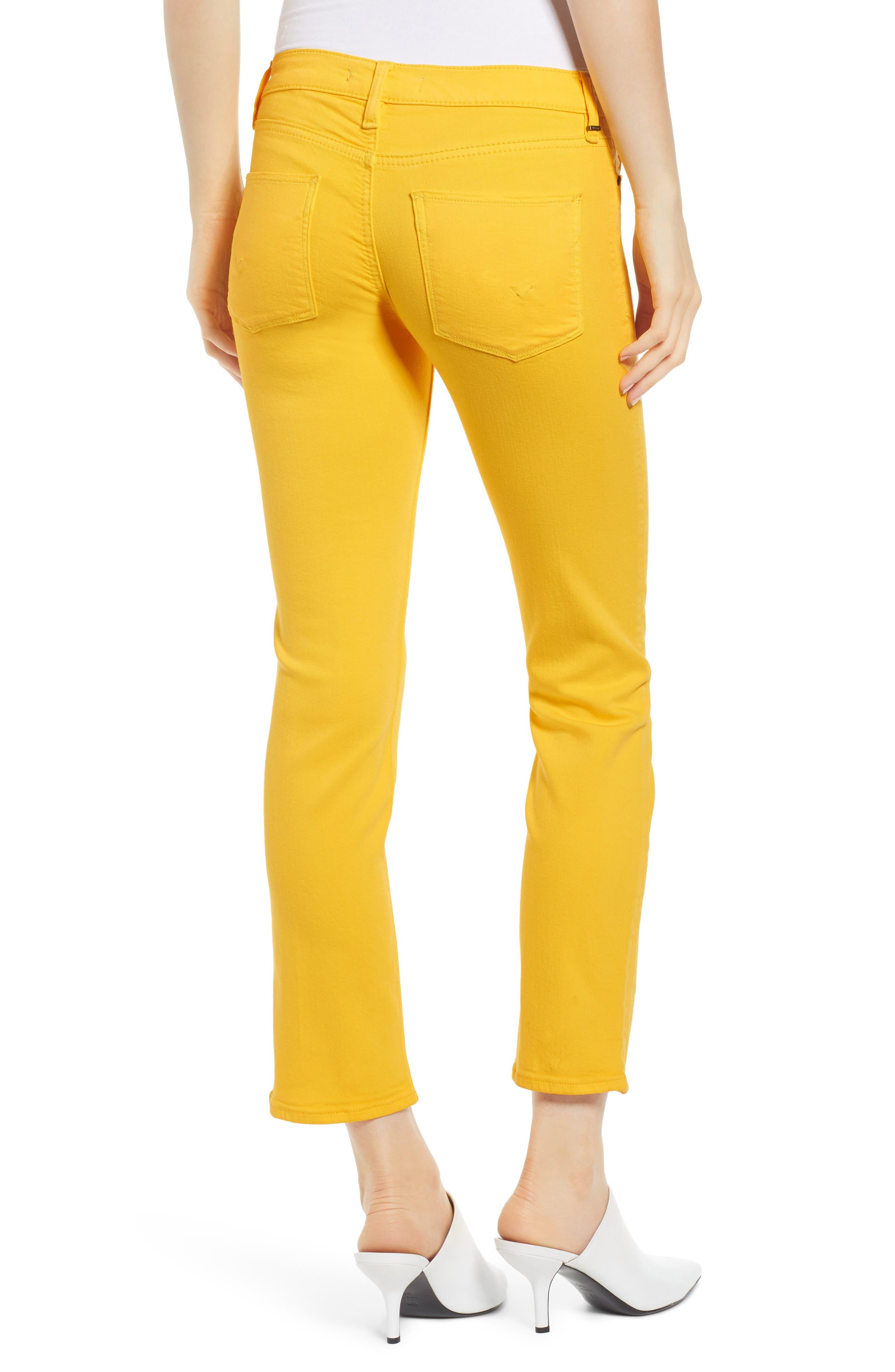 HUDSON JEANS, Hudson Ankle Straight Leg Jeans, Alternate thumbnail 2, color, STARBURST
