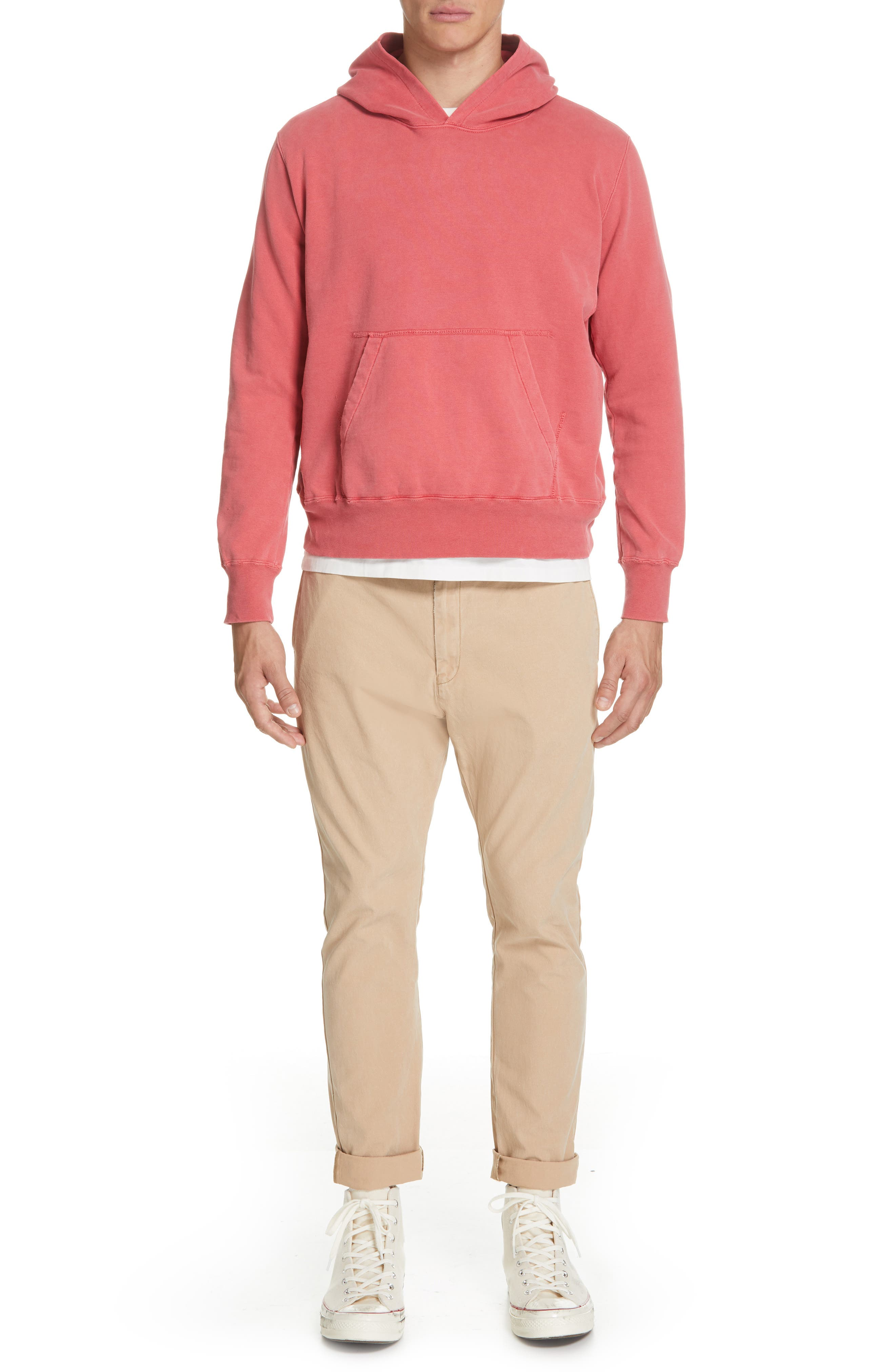 REMI RELIEF, Hoodie, Alternate thumbnail 7, color, 600