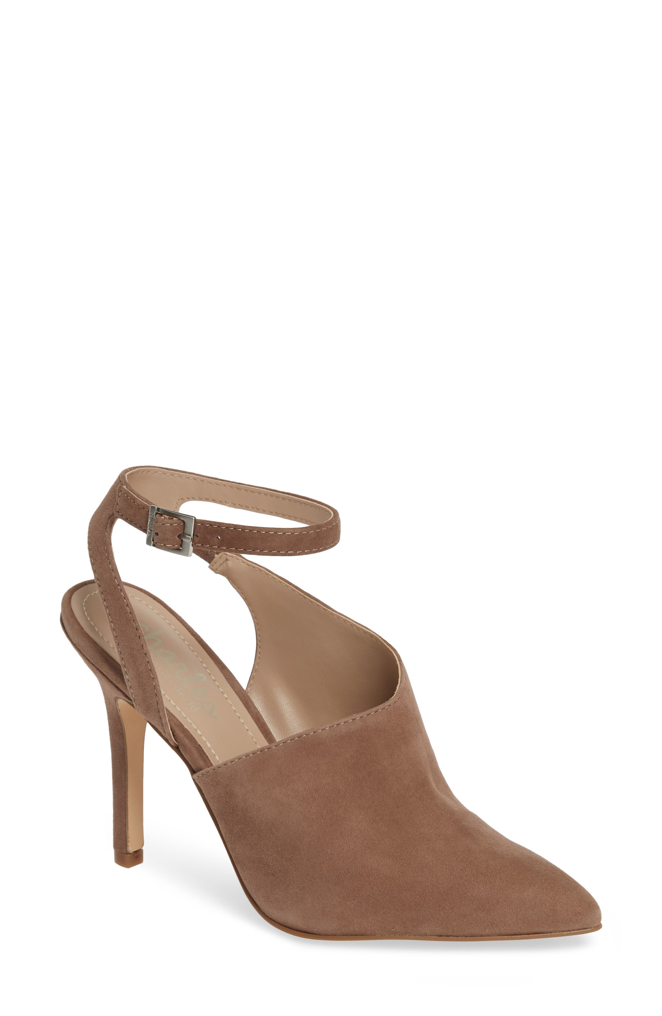CHARLES BY CHARLES DAVID Mieko Pump, Main, color, TAUPE SUEDE