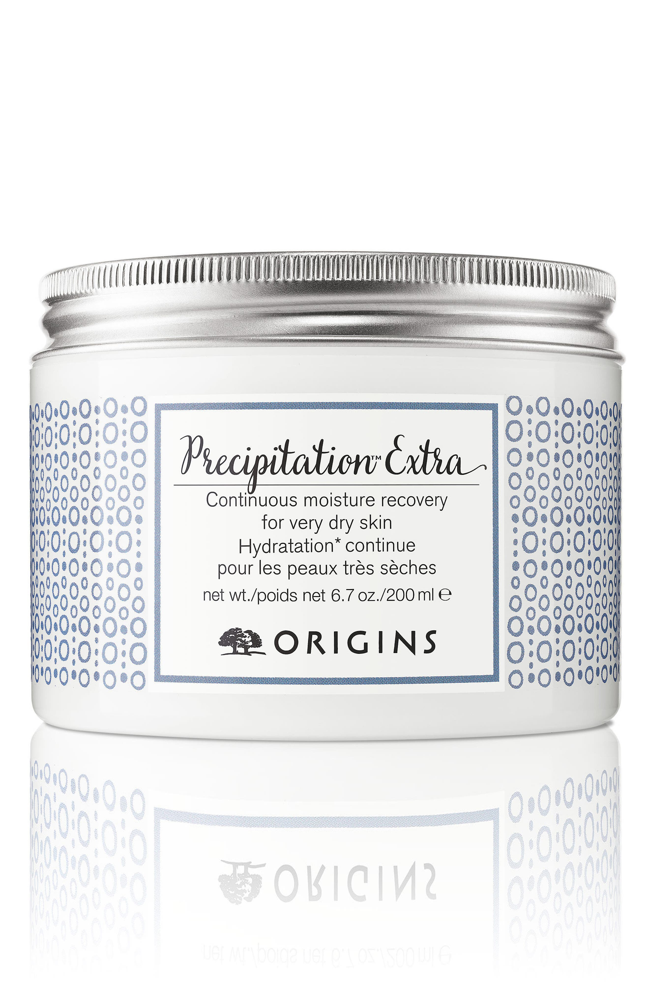 ORIGINS, Precipitation<sup>™</sup> Extra Continuous Moisture Recovery for Very Dry Skin, Main thumbnail 1, color, NO COLOR