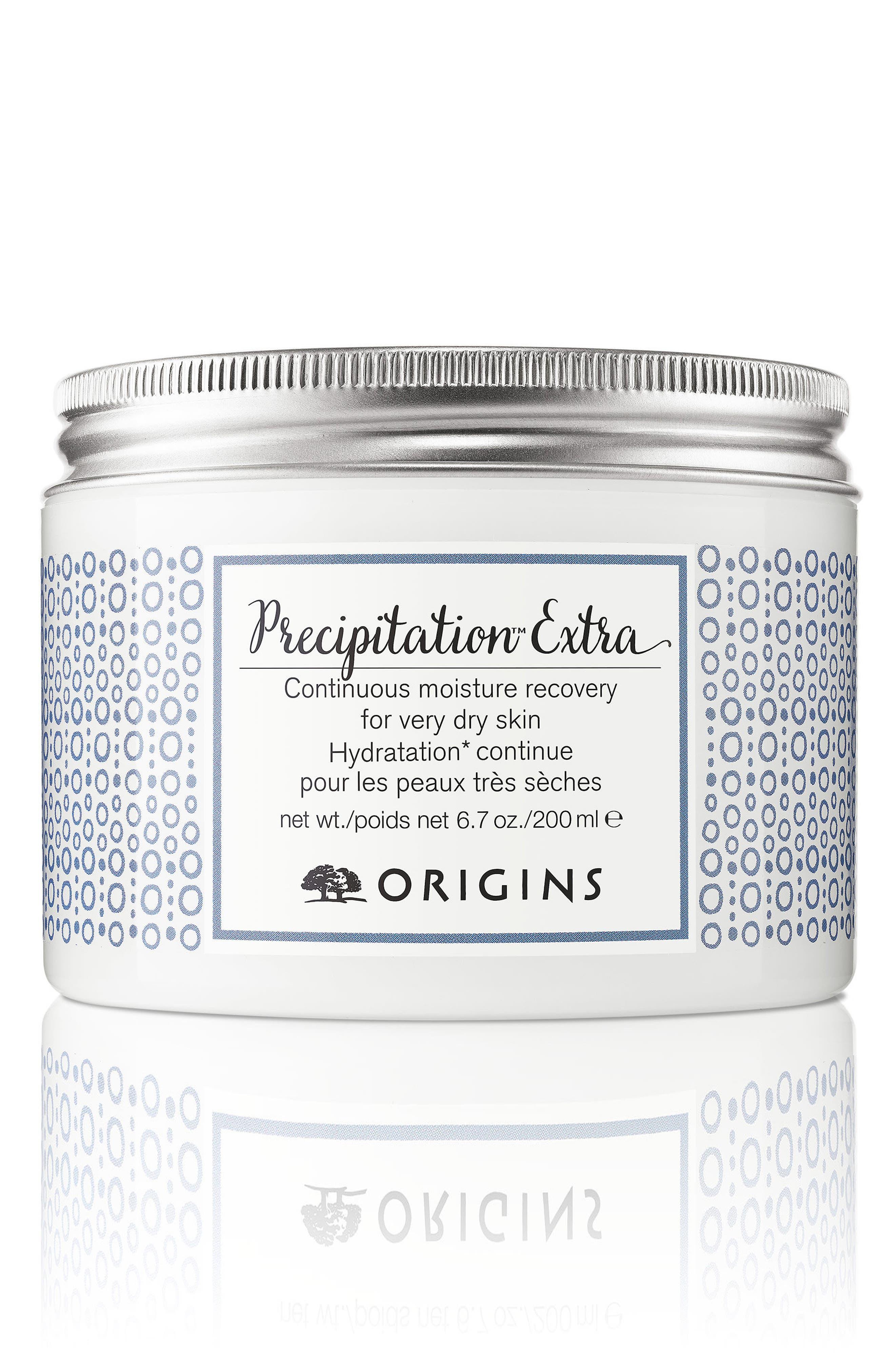 ORIGINS Precipitation<sup>™</sup> Extra Continuous Moisture Recovery for Very Dry Skin, Main, color, NO COLOR