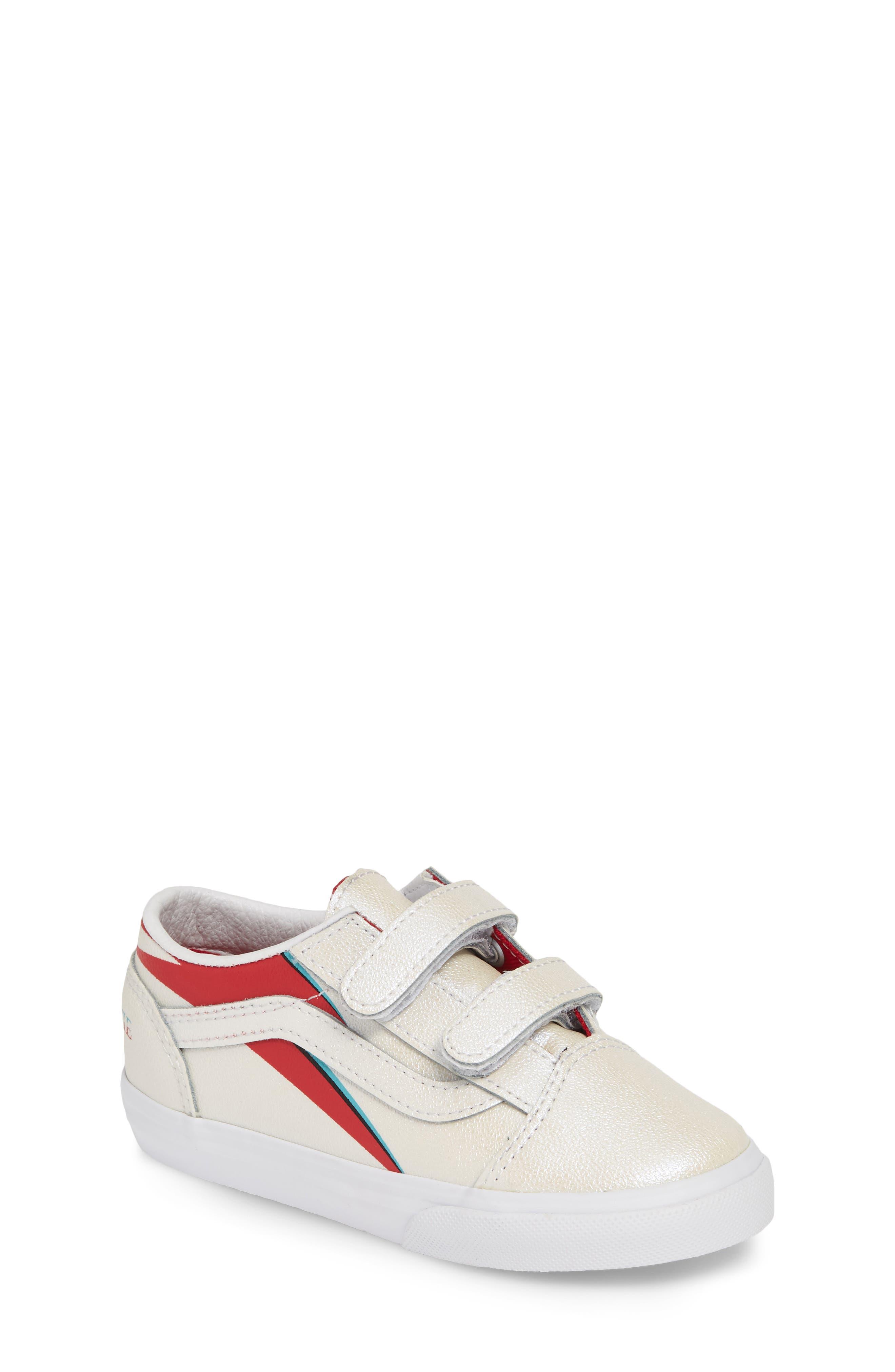 566ae73285 Toddler Vans Old Skool V Sneaker Size 5 M Blue
