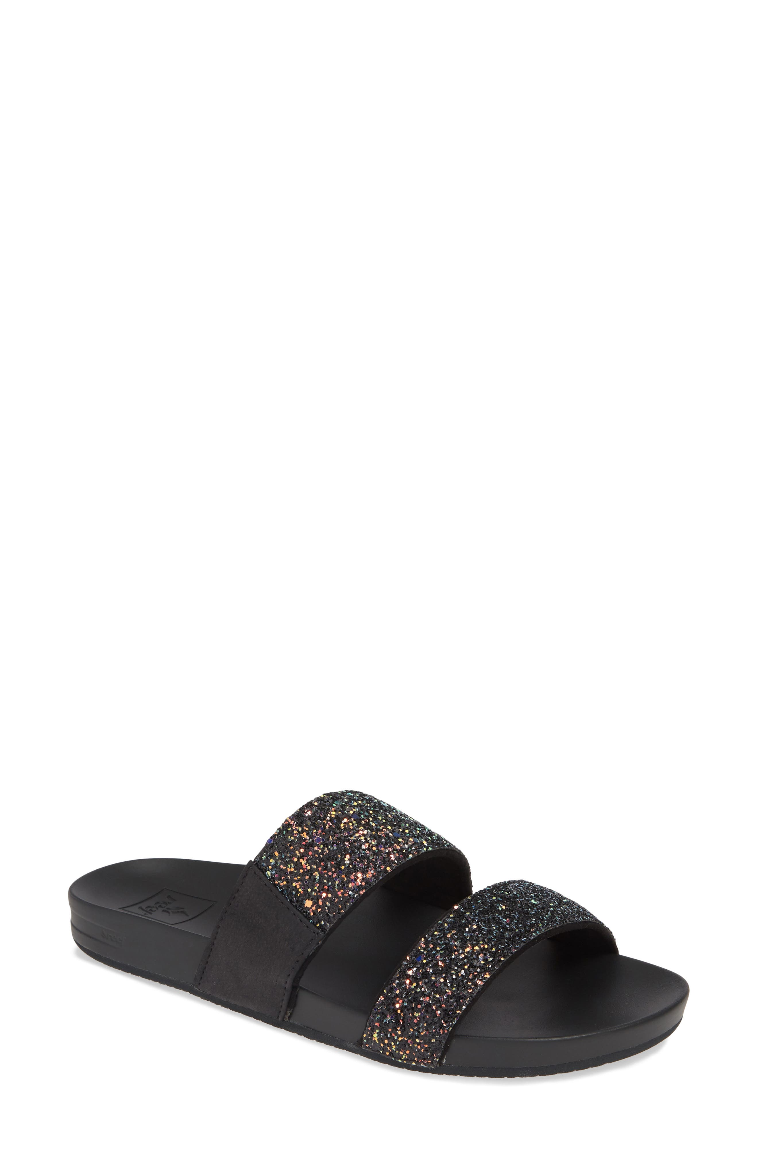 REEF, Cushion Bounce Vista Slide Sandal, Main thumbnail 1, color, POP ROCKS