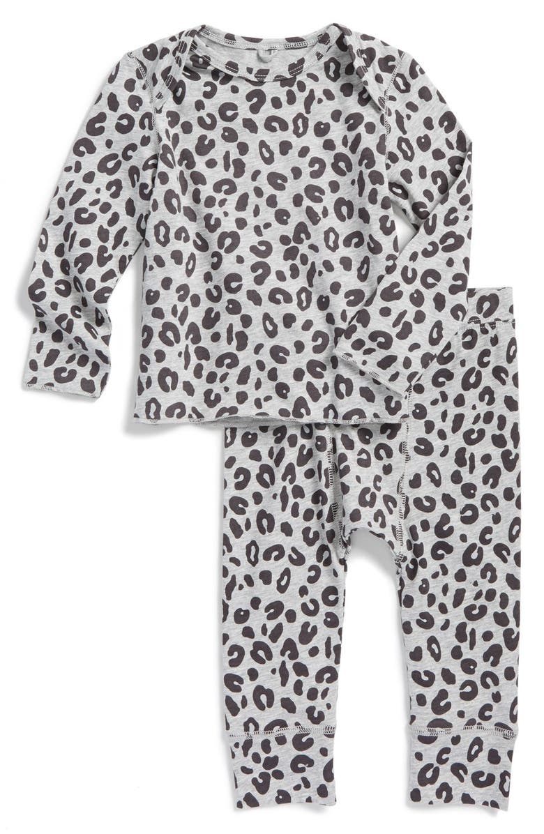 4eaffbb539ac94 STELLA MCCARTNEY KIDS 'Buster/Macy' Leopard Print Top & Leggings, Main,