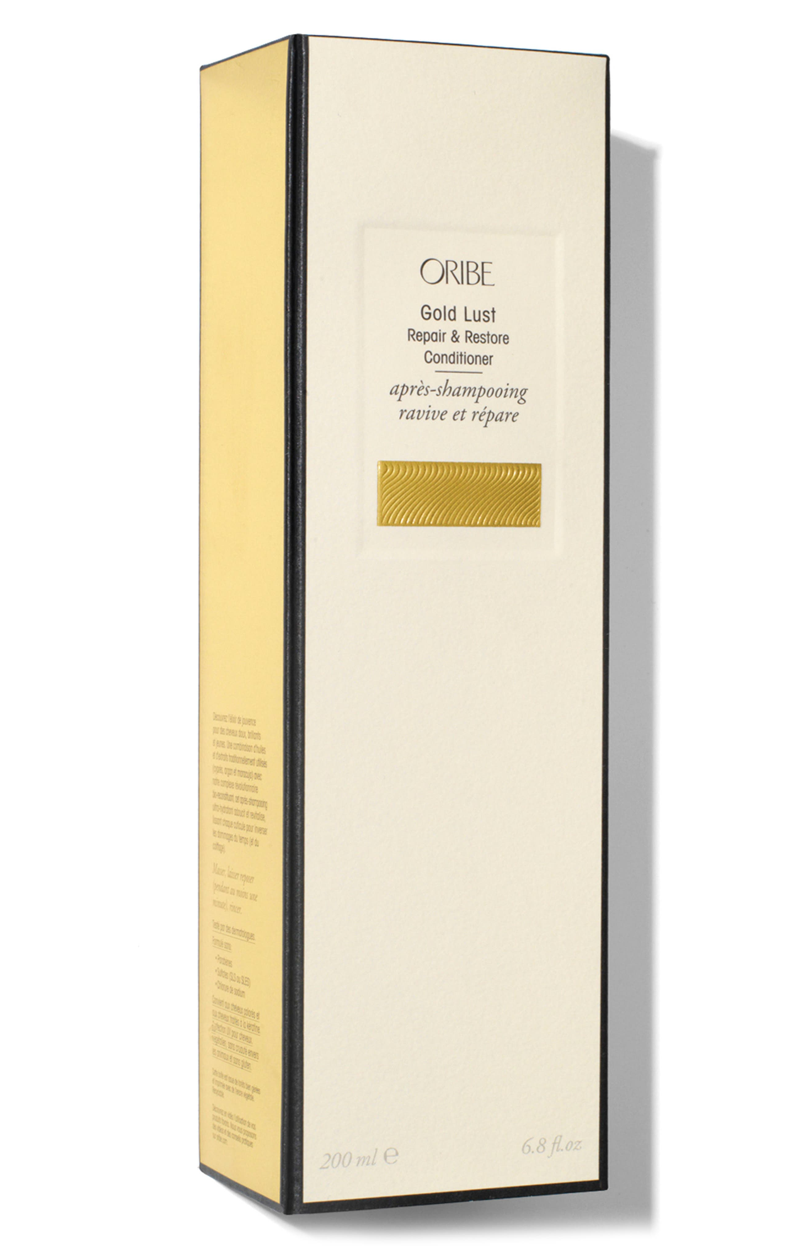 ORIBE, SPACE.NK.apothecary Oribe Gold Lust Repair & Restore Conditioner, Alternate thumbnail 2, color, NO COLOR