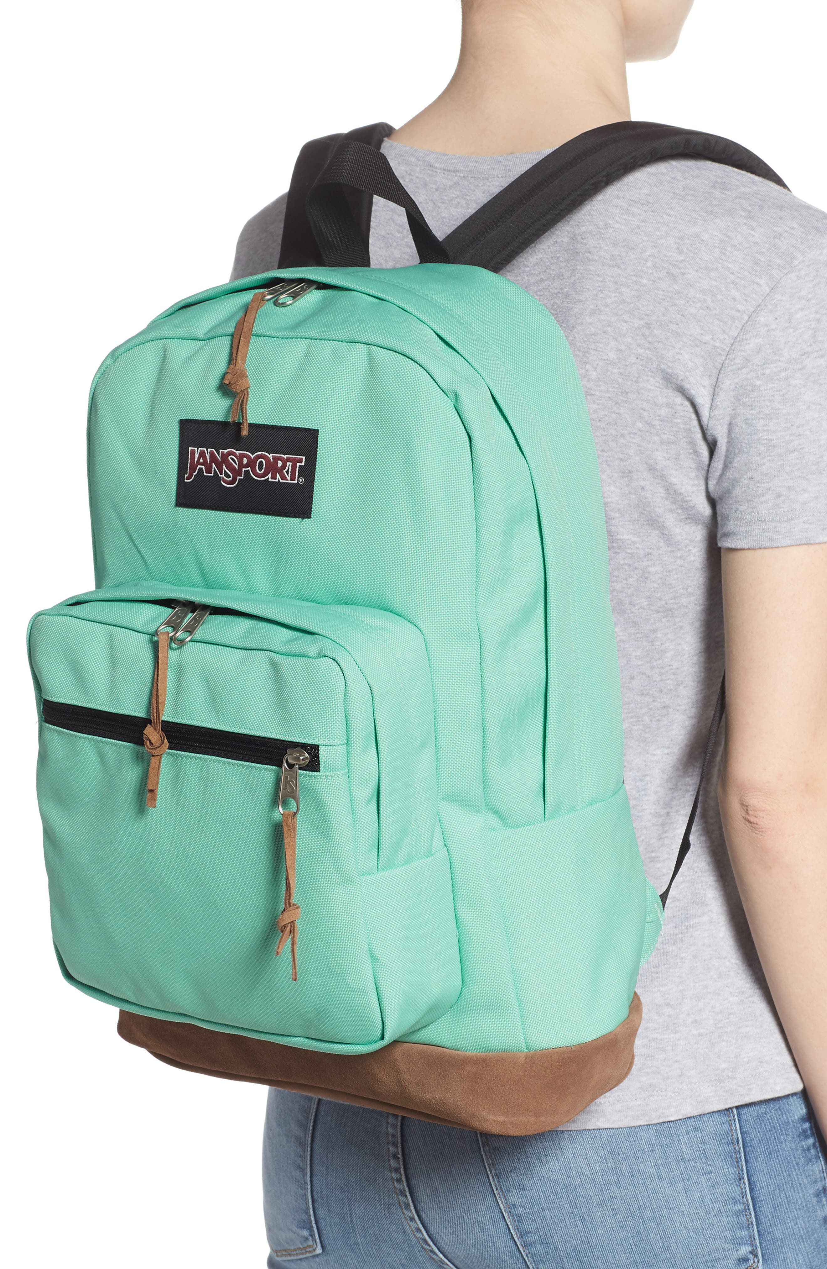 JANSPORT, Right Pack 15-Inch Laptop Backpack, Alternate thumbnail 2, color, CASCADE