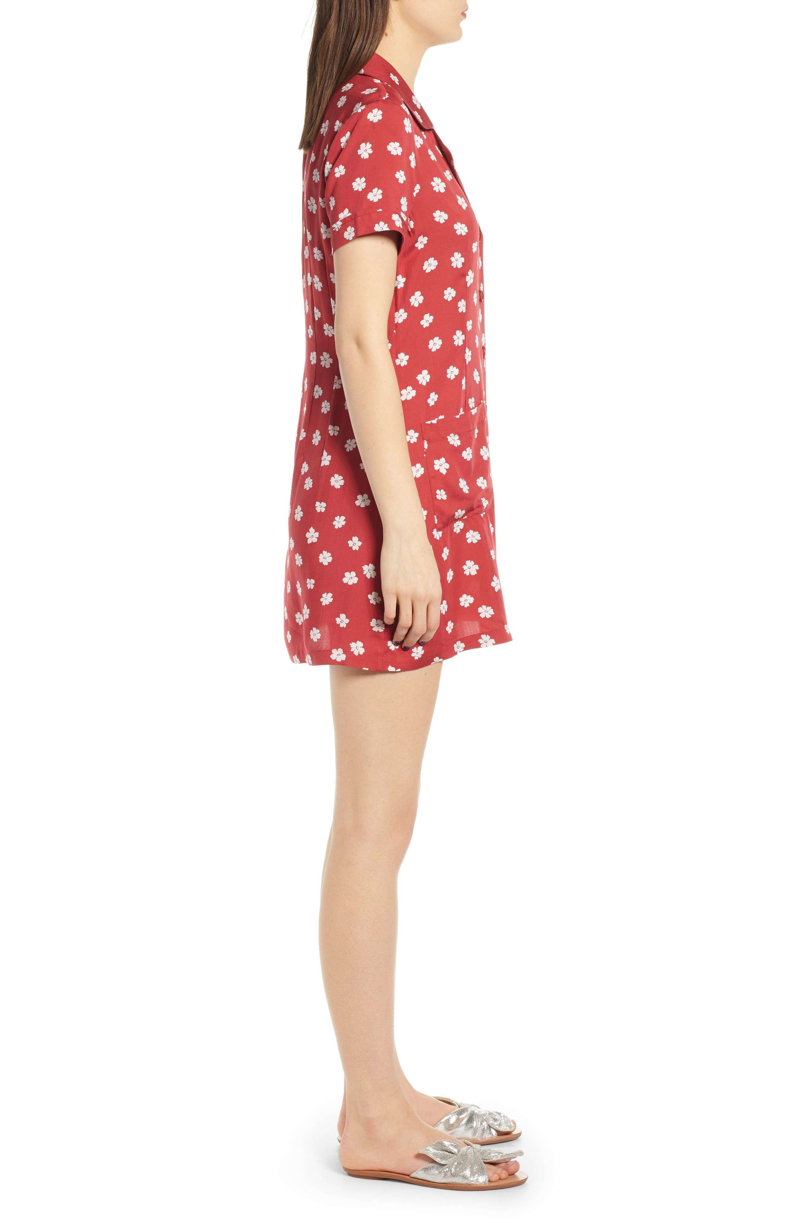 REFORMATION, Plymouth Shirtdress, Alternate thumbnail 4, color, DELIA