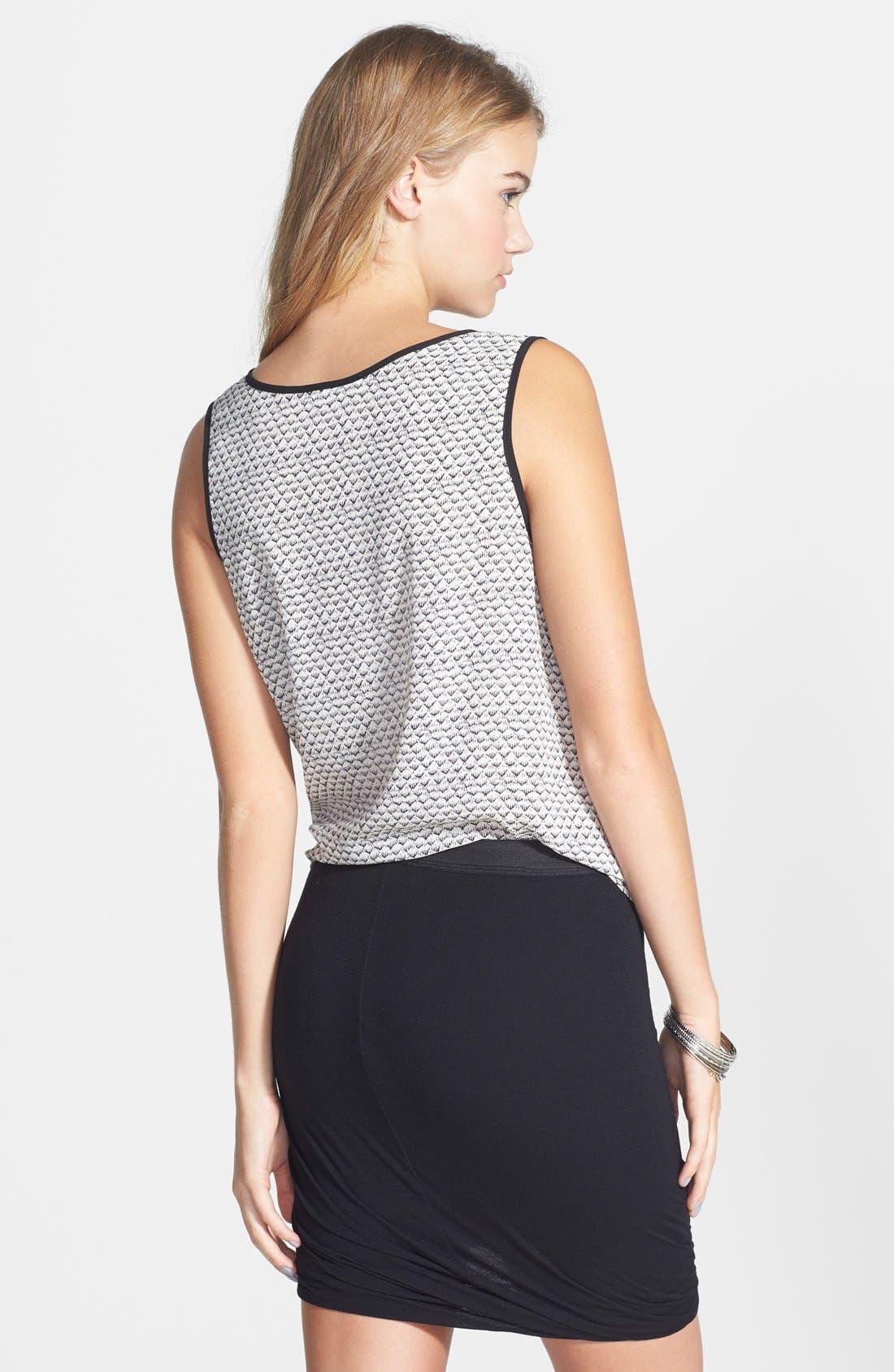 ---, Bandage Wrap Skirt, Alternate thumbnail 2, color, 001