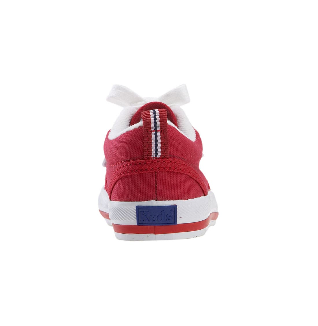KEDS<SUP>®</SUP>, 'Graham' Lace-Up Sneaker, Alternate thumbnail 2, color, RED CANVAS