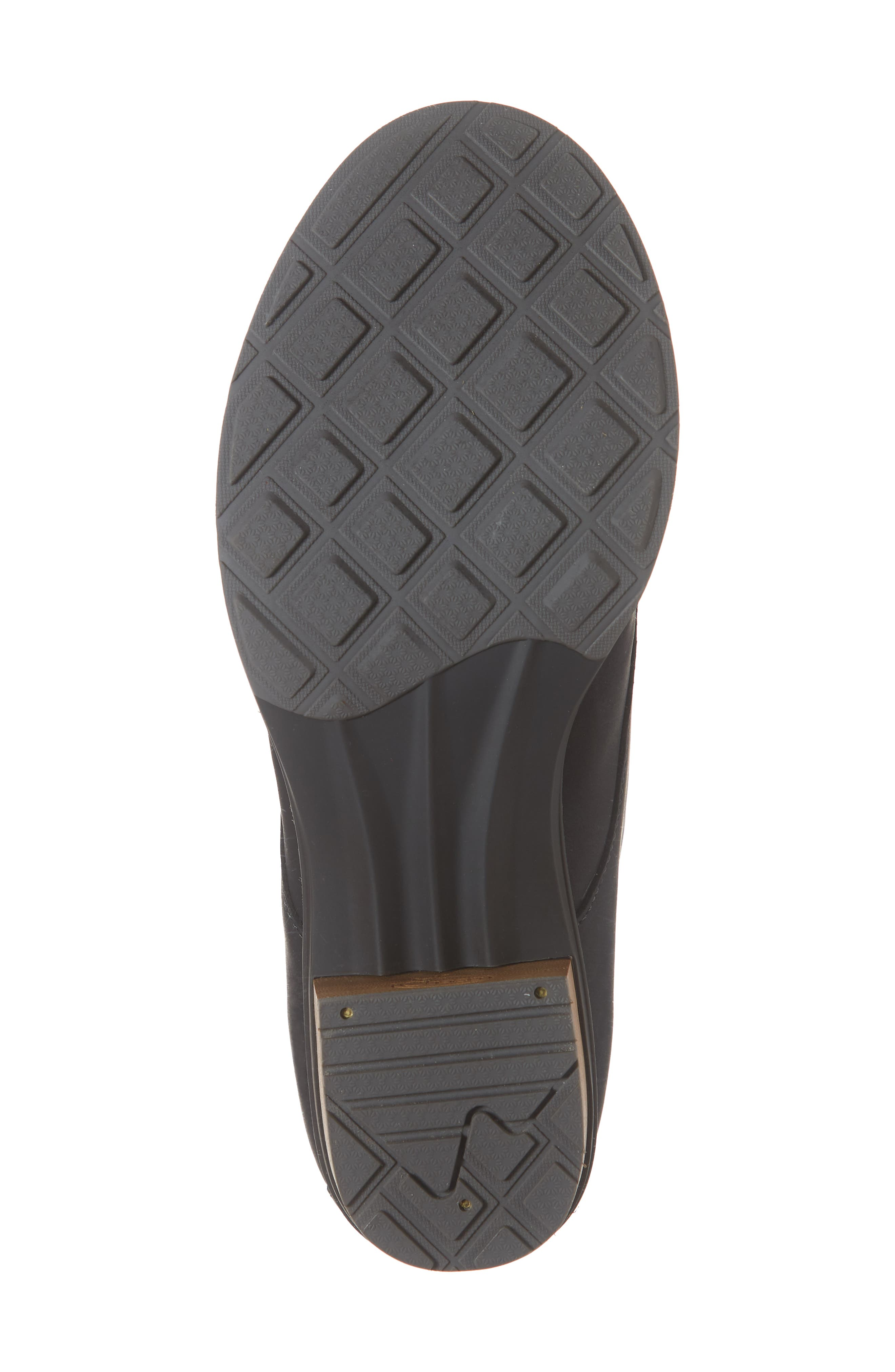 CHACO, Cataluna Waterproof Lace-Up Boot, Alternate thumbnail 6, color, BLACK LEATHER
