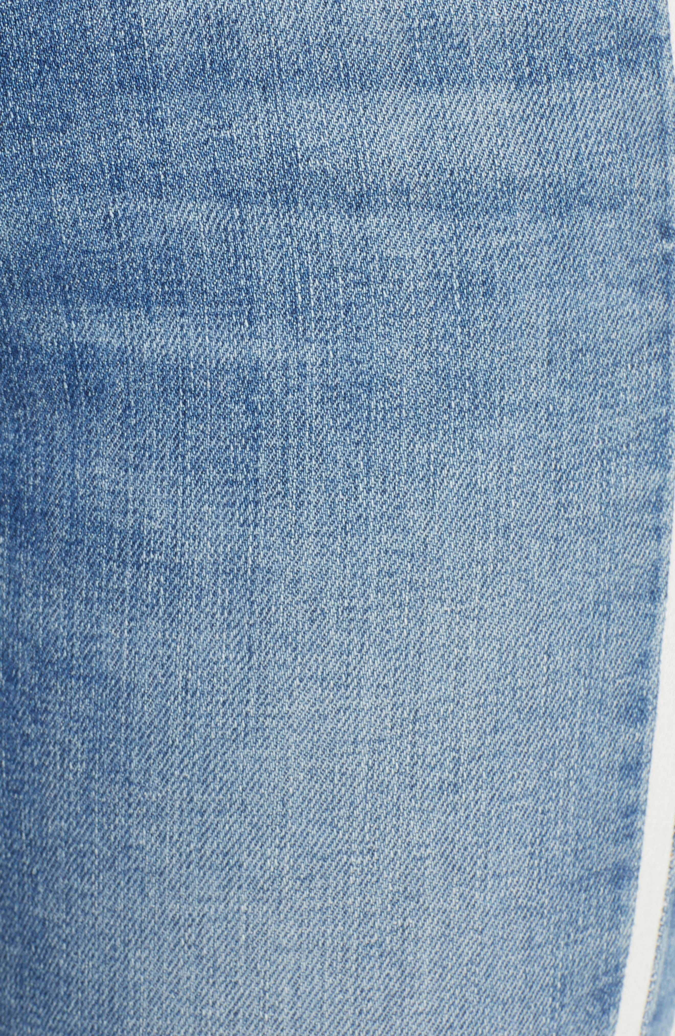 7 FOR ALL MANKIND<SUP>®</SUP>, Side Stripe Ankle Skinny Jeans, Alternate thumbnail 6, color, SLOANE VINTAGE