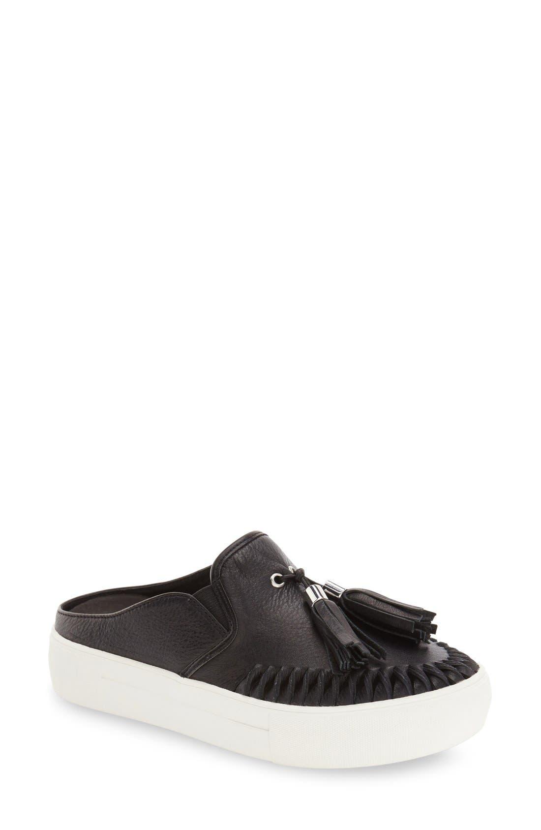 JSLIDES, Tassel Slip-On Sneaker, Main thumbnail 1, color, 015