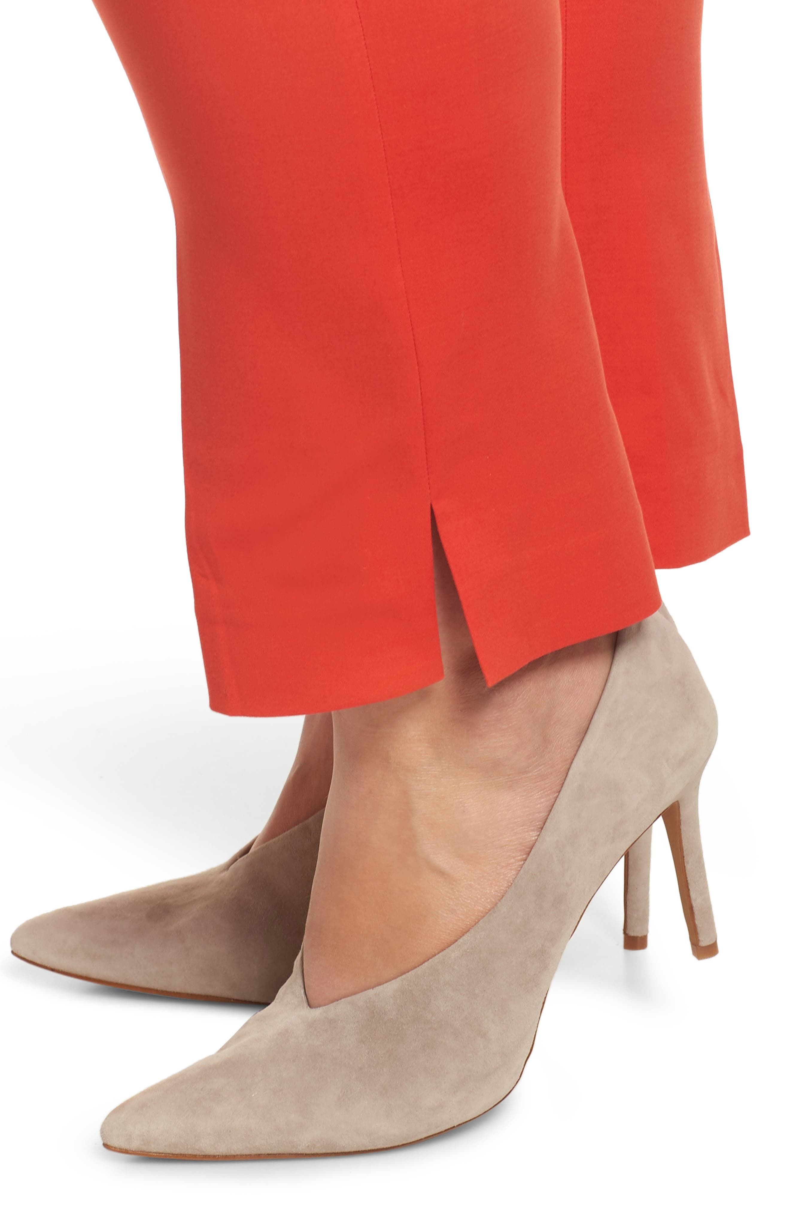 VINCE CAMUTO, Vented Cuff Slim Pants, Alternate thumbnail 5, color, 600