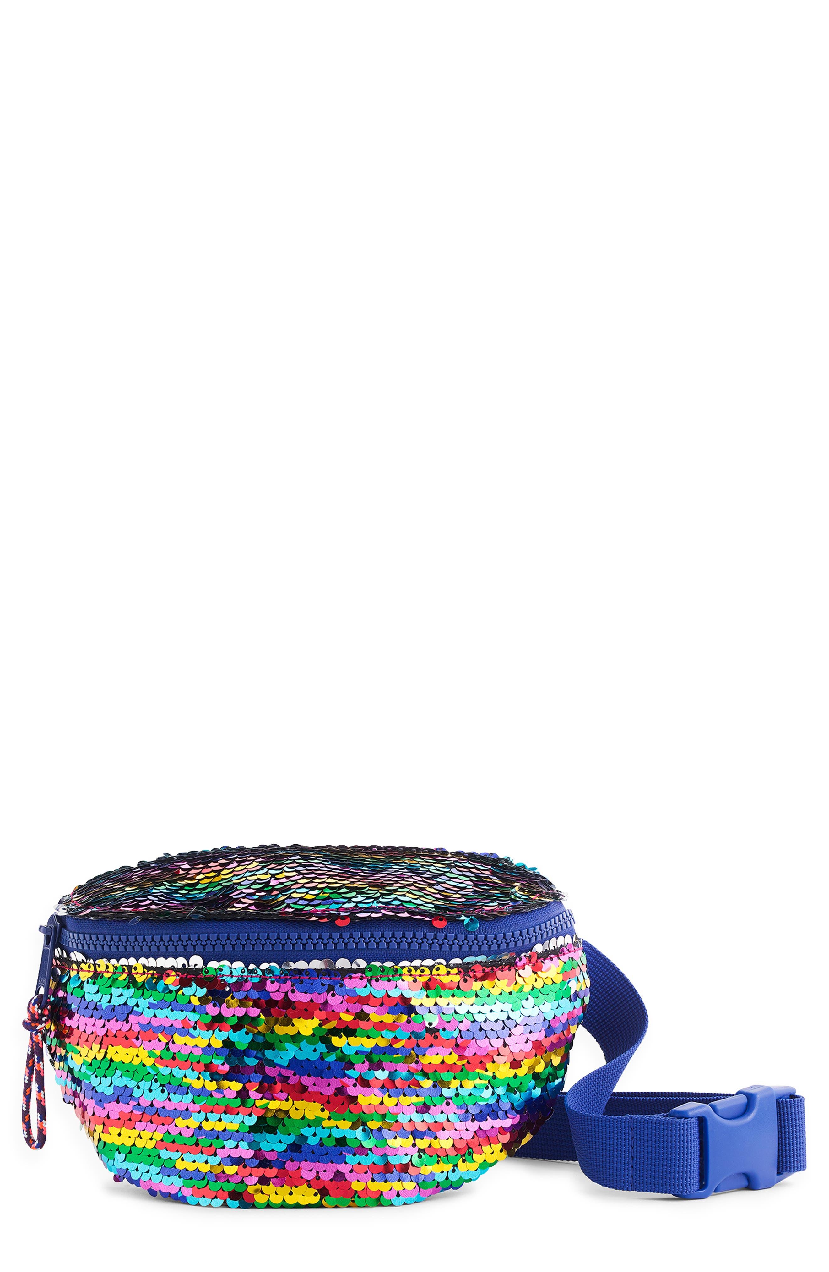 Girls Crewcuts By Jcrew Reversible Sequin Belt Bag  None