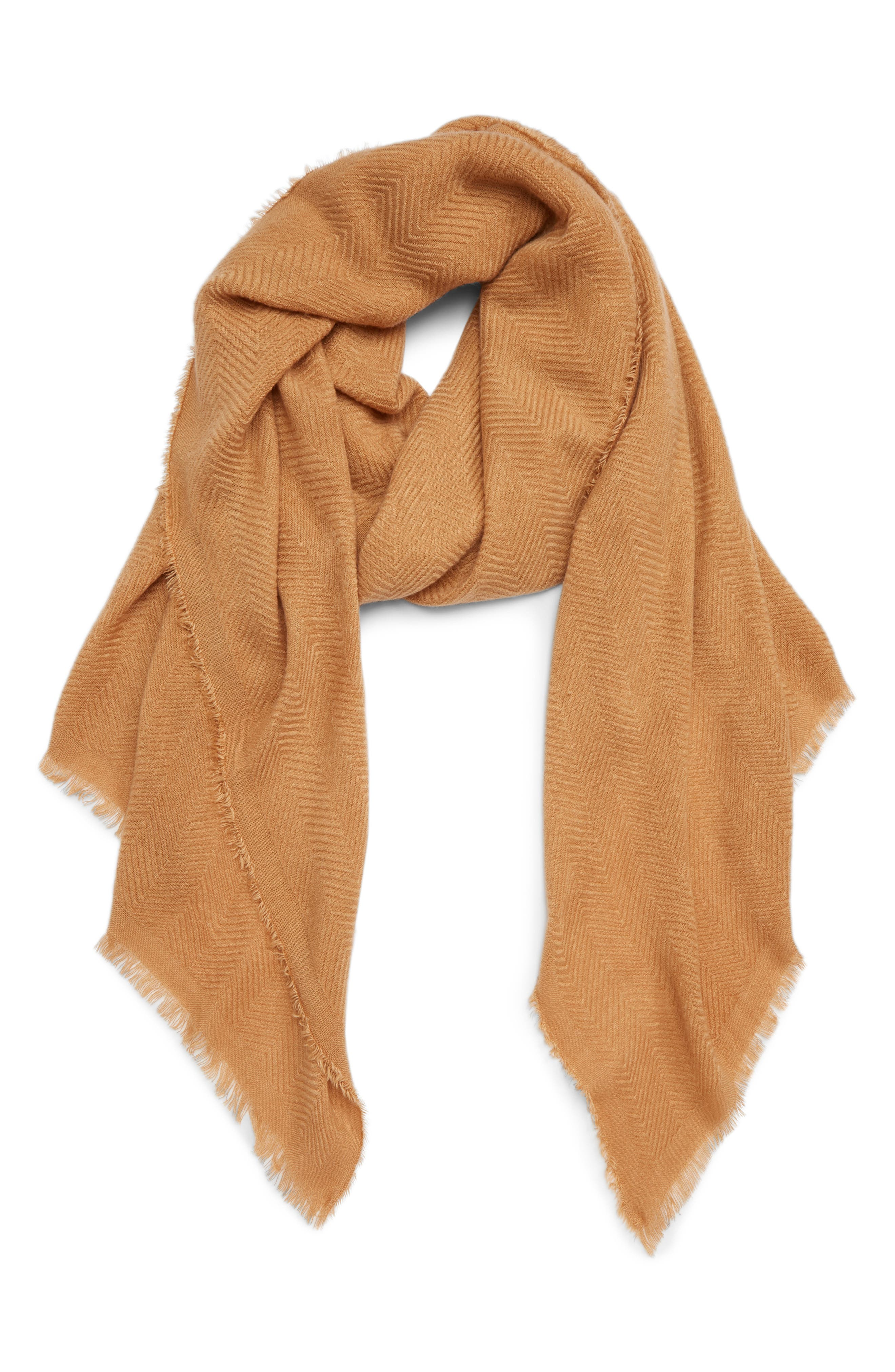 SOLE SOCIETY, Oversize Blanket Scarf, Main thumbnail 1, color, CAMEL