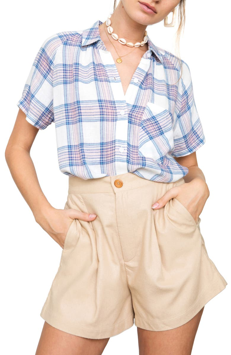 Rails T-shirts CHRISTINE PLAID WOVEN SHIRT