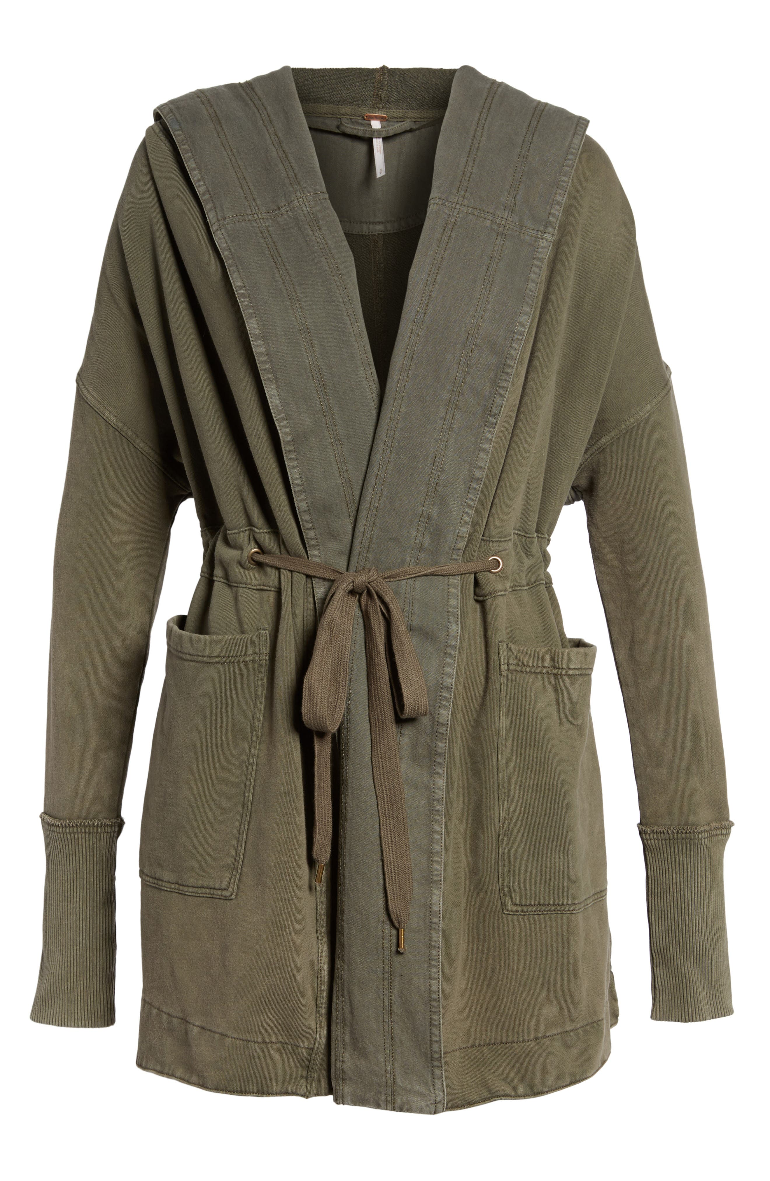FREE PEOPLE, Brentwood Cotton Cardigan, Alternate thumbnail 2, color, 350