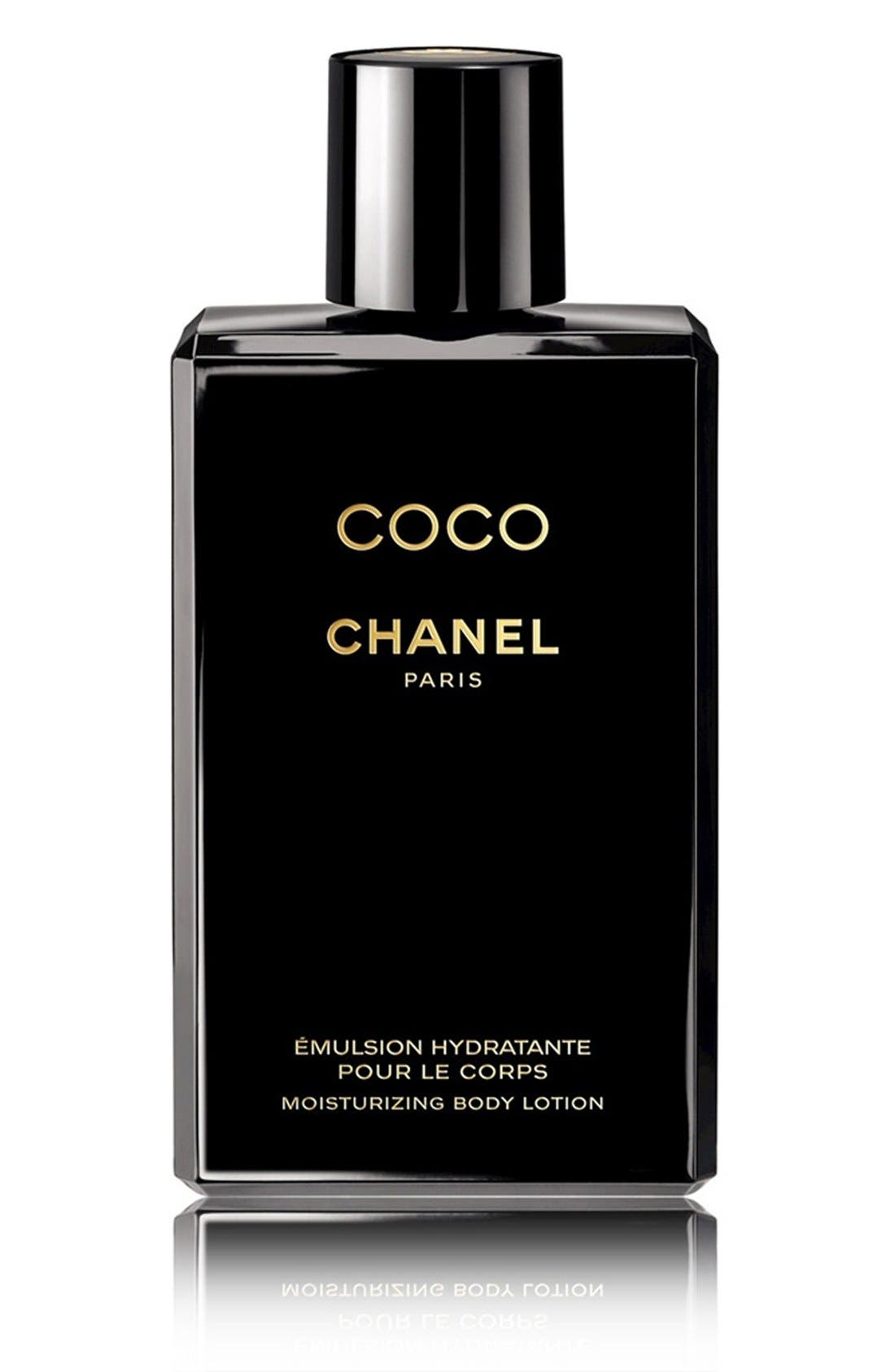 CHANEL, COCO<br />Moisturizing Body Lotion, Main thumbnail 1, color, NO COLOR
