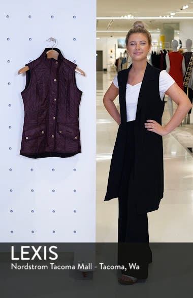'Cavalry' Quilted Vest, sales video thumbnail