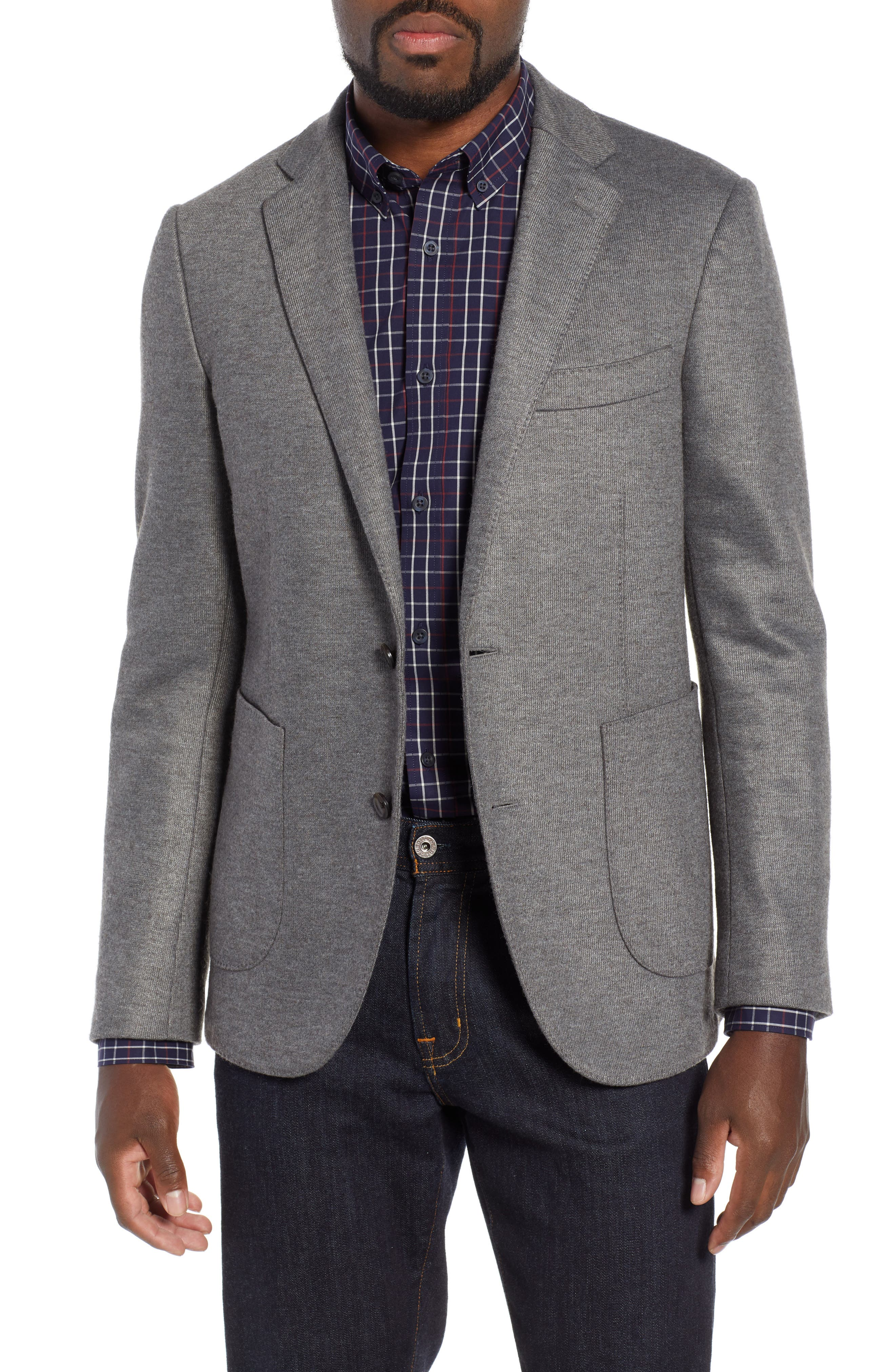 RODD & GUNN, Brooklynn Sport Coat, Main thumbnail 1, color, ASH