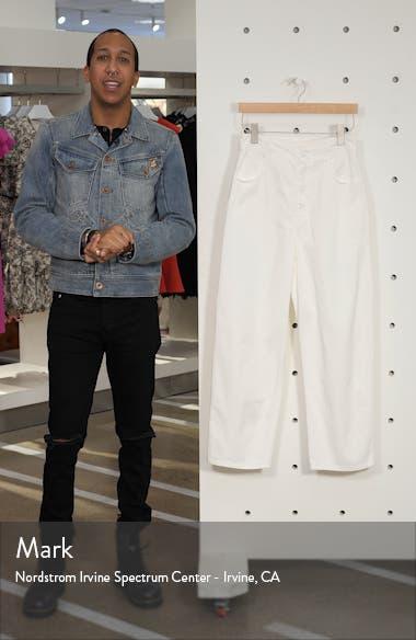 Toledo Crop Cotton Pants, sales video thumbnail