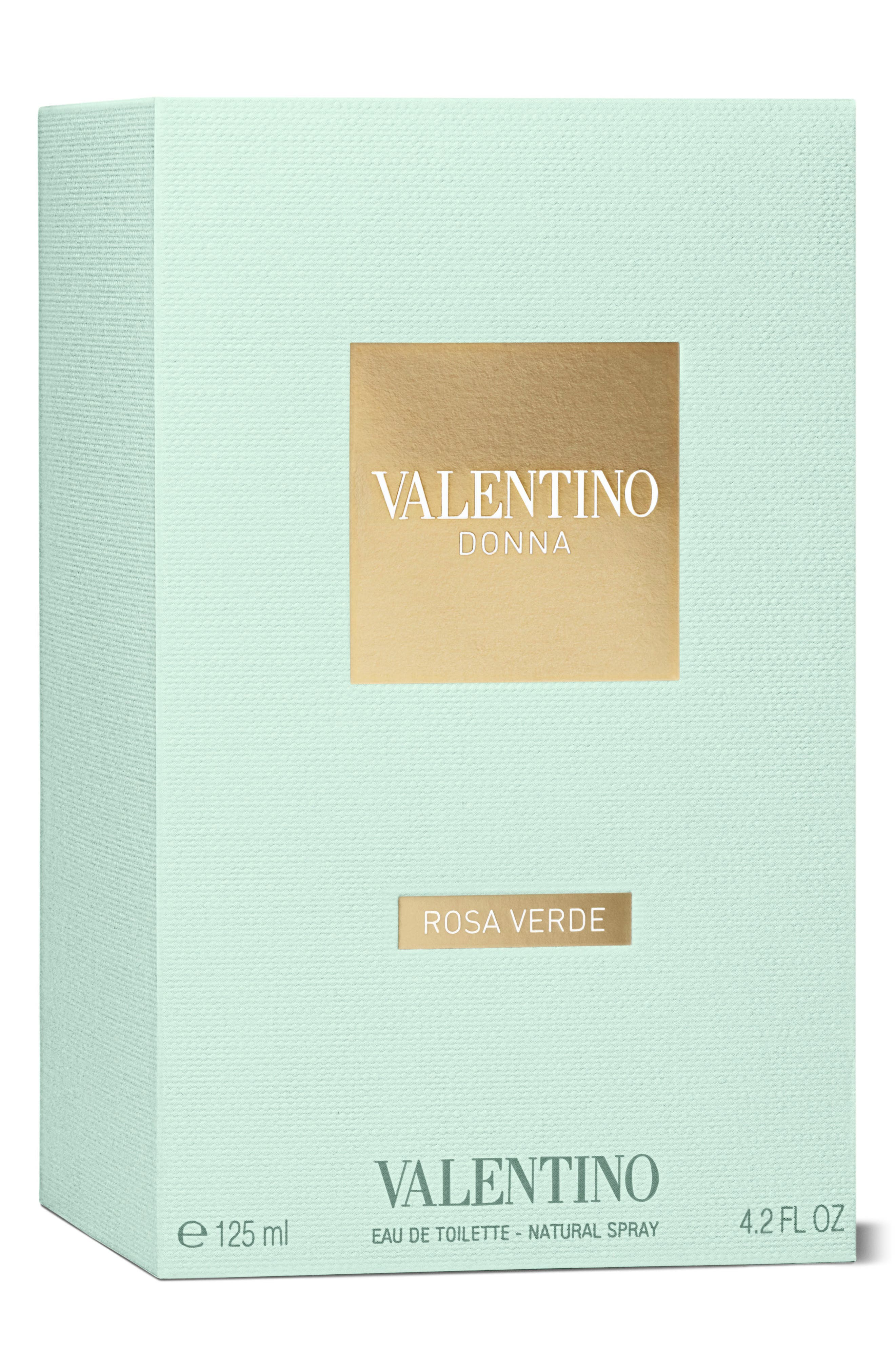 VALENTINO, Donna Rosa Verde Eau de Toilette, Alternate thumbnail 2, color, NO COLOR