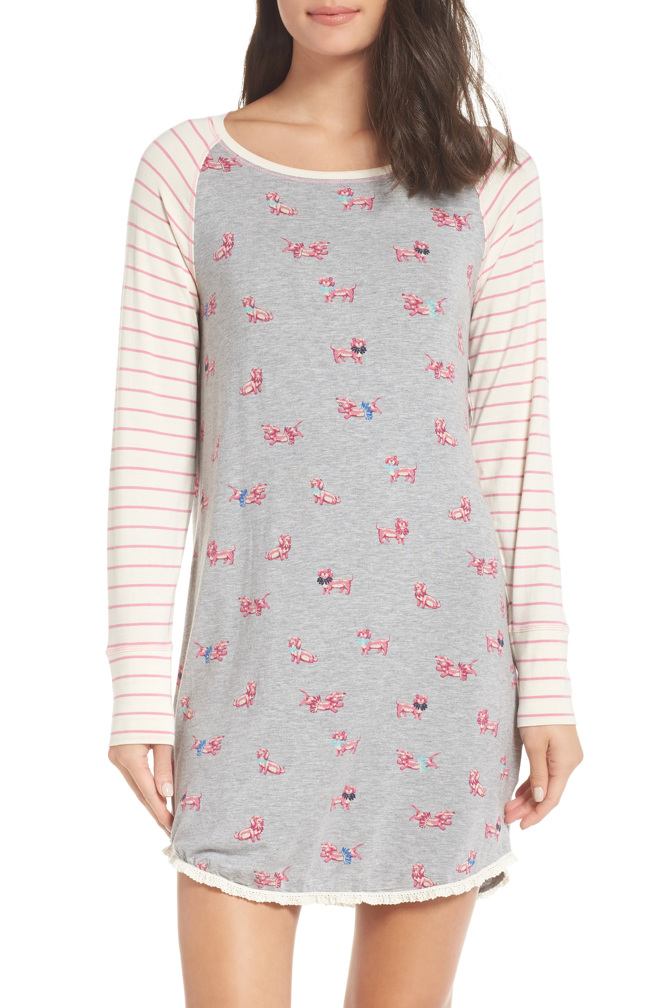 HATLEY Nighty Nightshirt, Main, color, 020