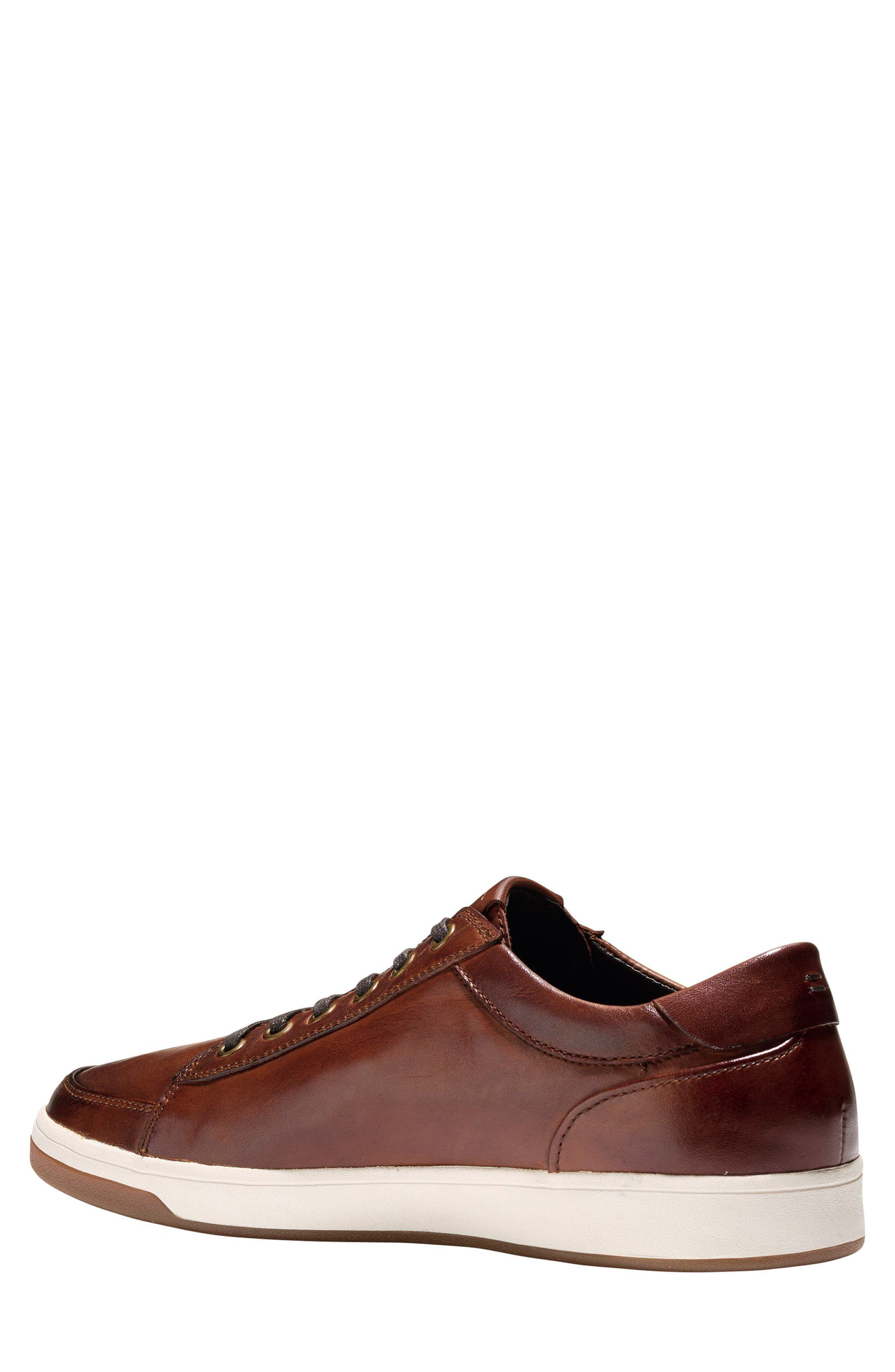 COLE HAAN, GrandPro Spectator Sneaker, Alternate thumbnail 2, color, WOODBURY LEATHER