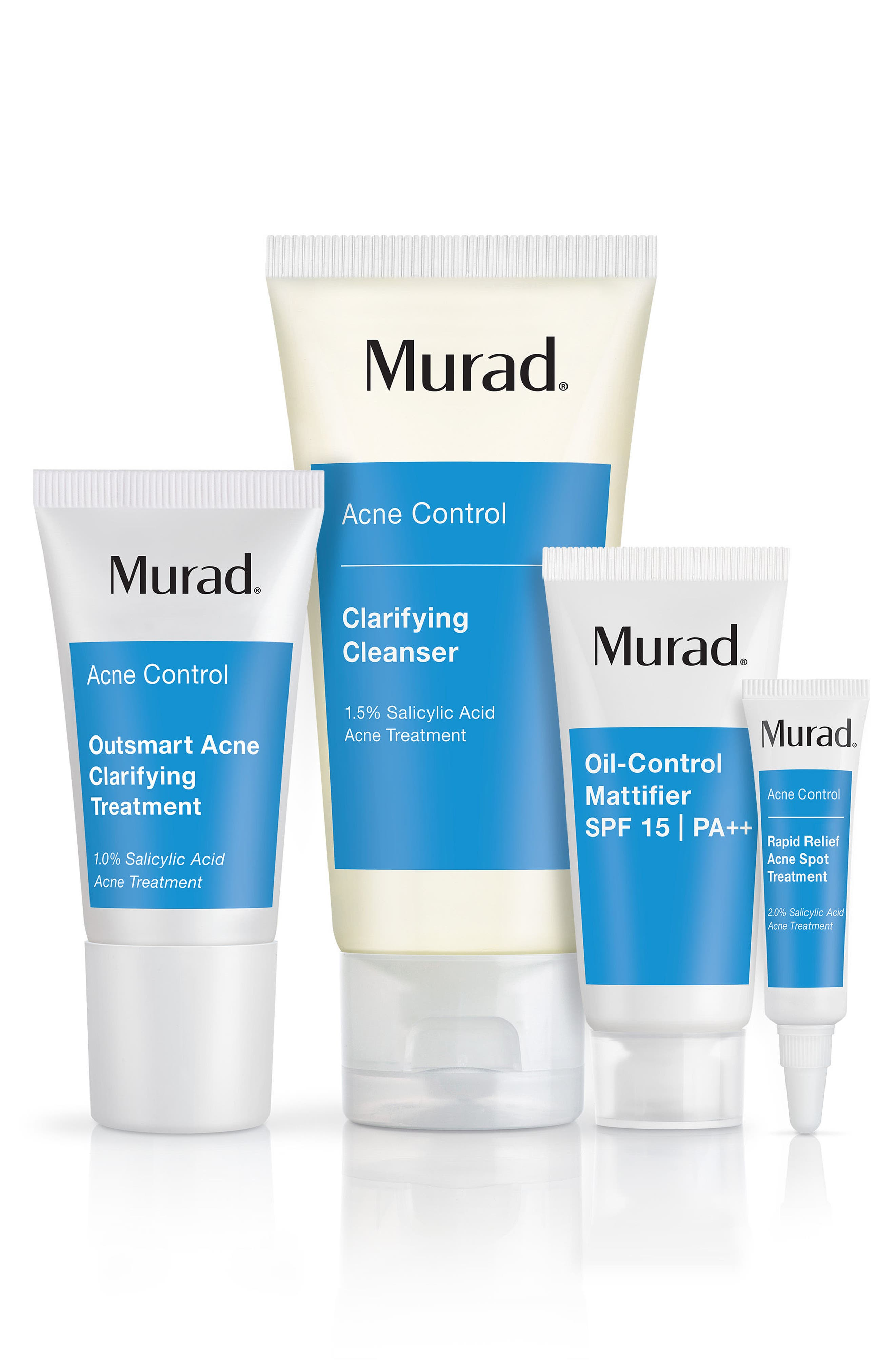 MURAD<SUP>®</SUP>, Clear Control 30-Day Kit, Main thumbnail 1, color, NO COLOR