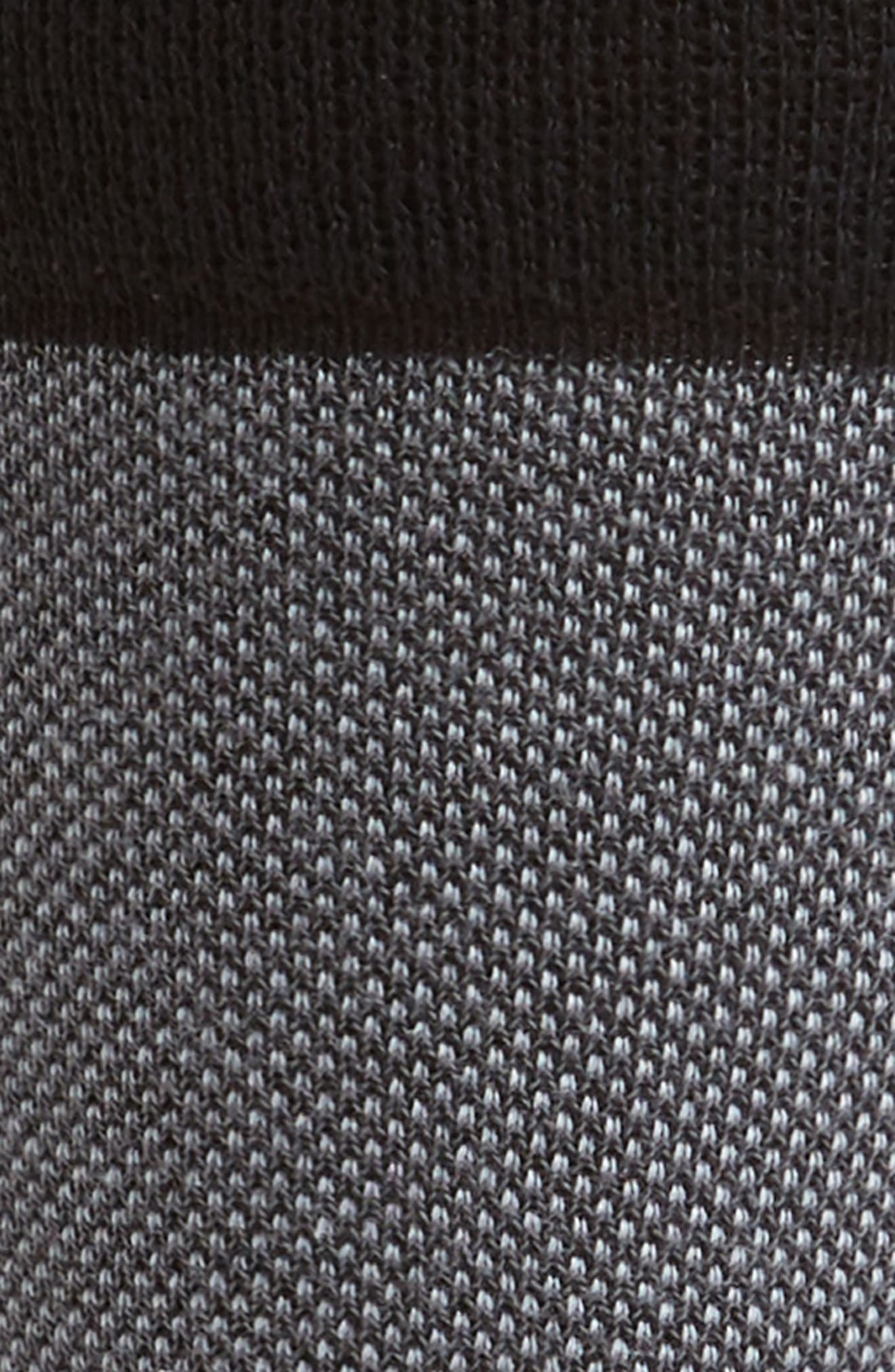 TED BAKER LONDON, Joaquim Solid Socks, Alternate thumbnail 2, color, BLACK/ CHARCOAL