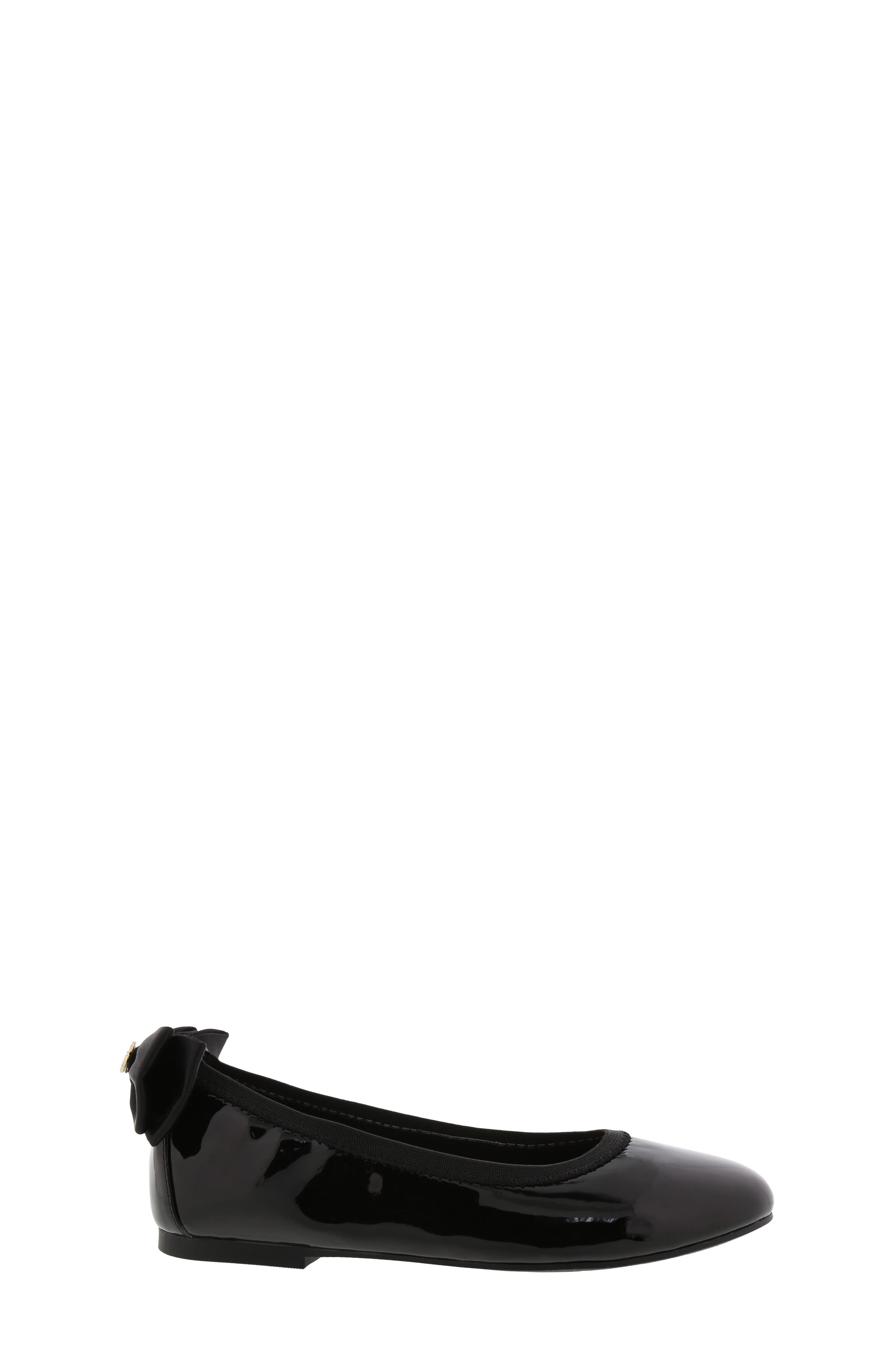 SAM EDELMAN, Felicia Esmerelda Ballet Flat, Alternate thumbnail 3, color, BLACK PATENT