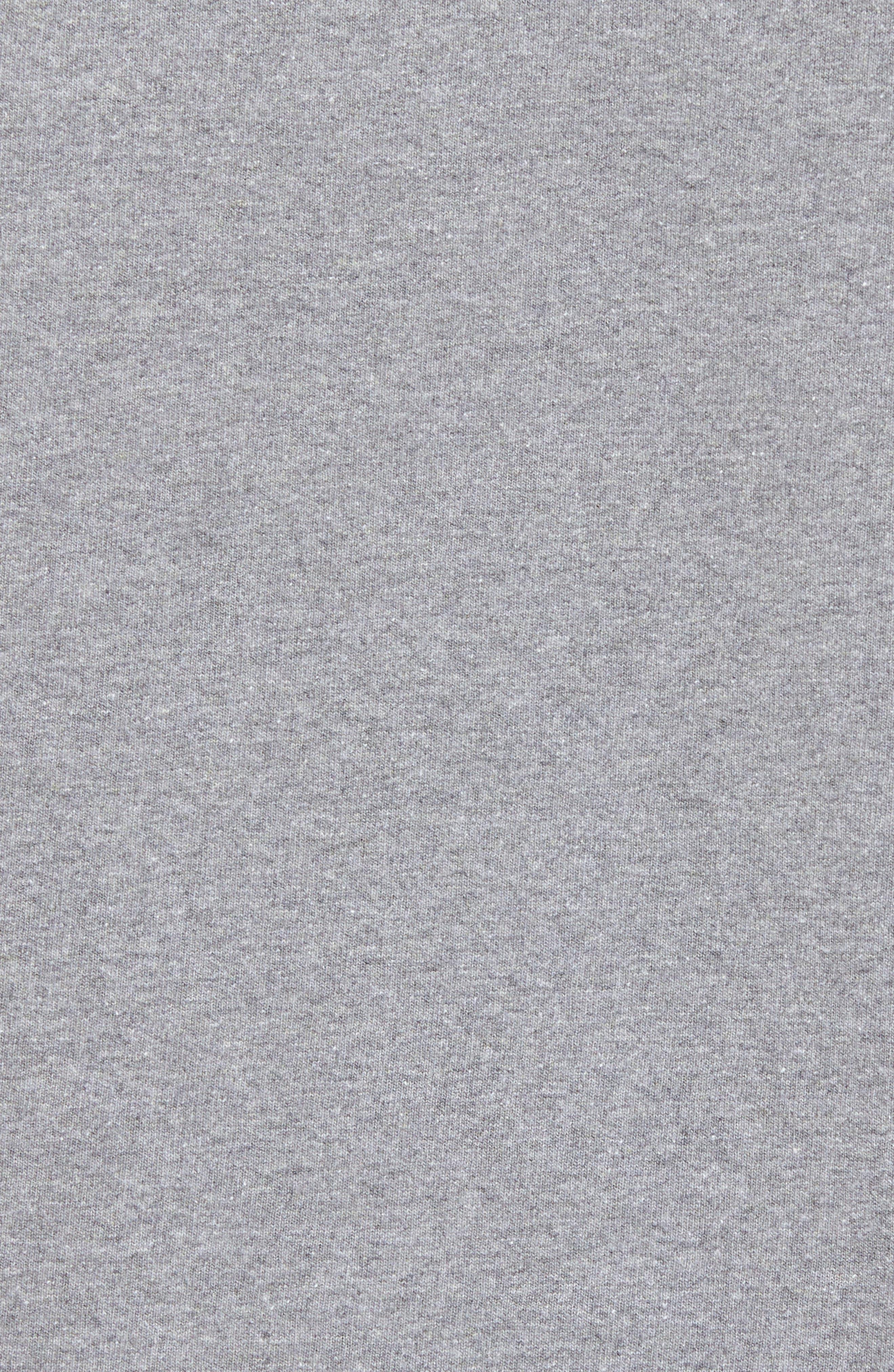 PATAGONIA, Responsibili-Tee T-Shirt, Alternate thumbnail 5, color, GRAVEL HEATHER