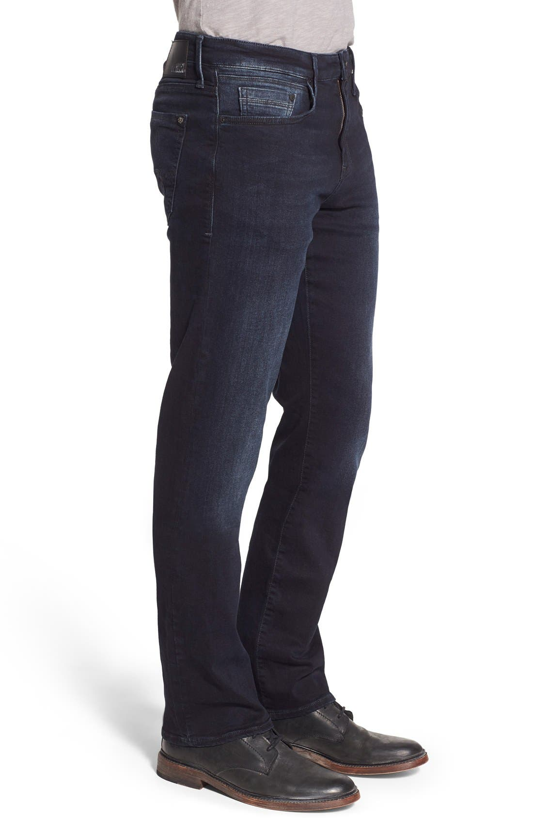MAVI JEANS, Matt Relaxed Fit Jeans, Alternate thumbnail 7, color, INK WILLIAMSBURG