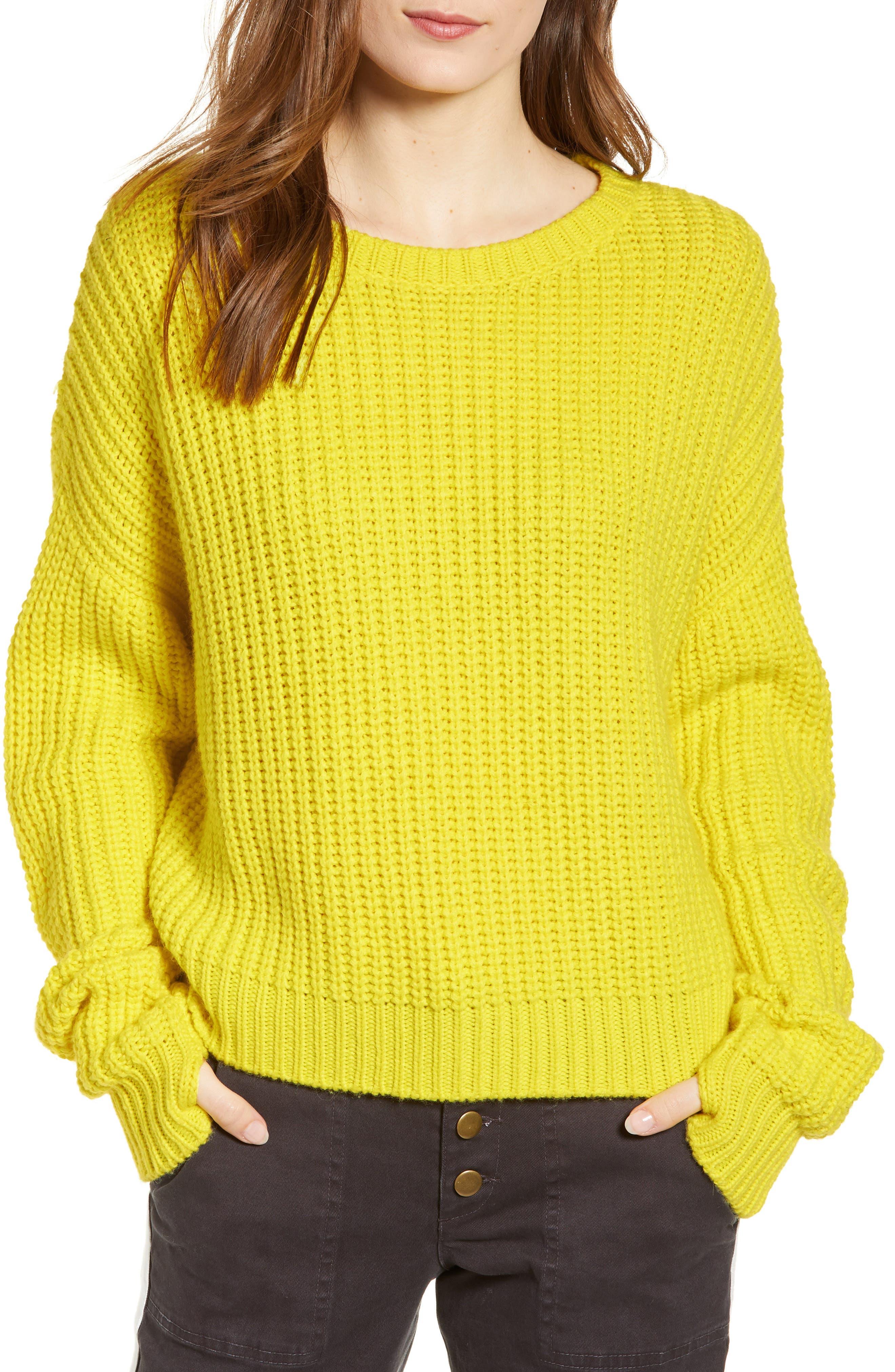 PAM & GELA, High/Low Sweater, Main thumbnail 1, color, 729