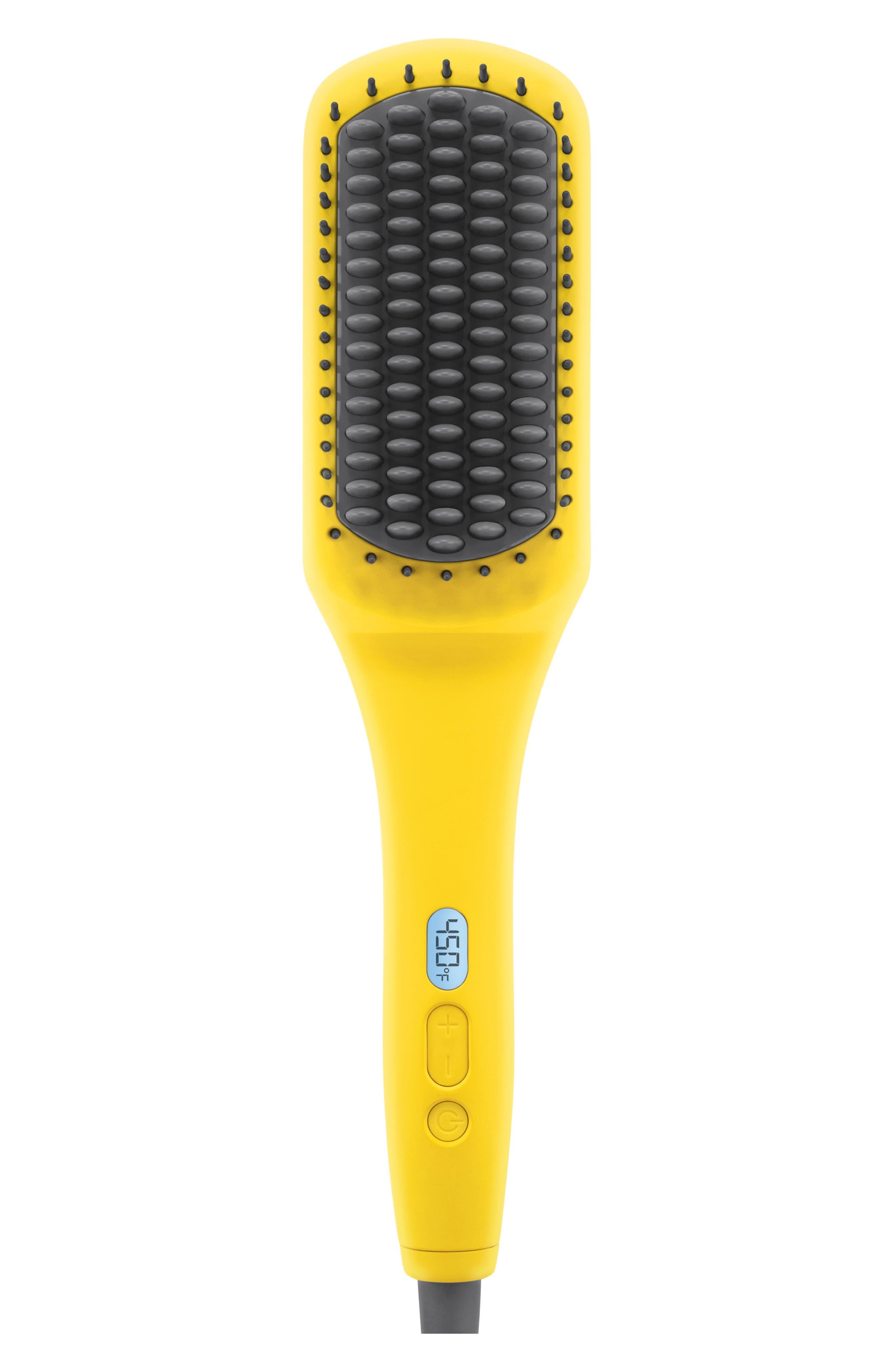 DRYBAR, The Brush Crush Heated Straightening Brush, Main thumbnail 1, color, NO COLOR