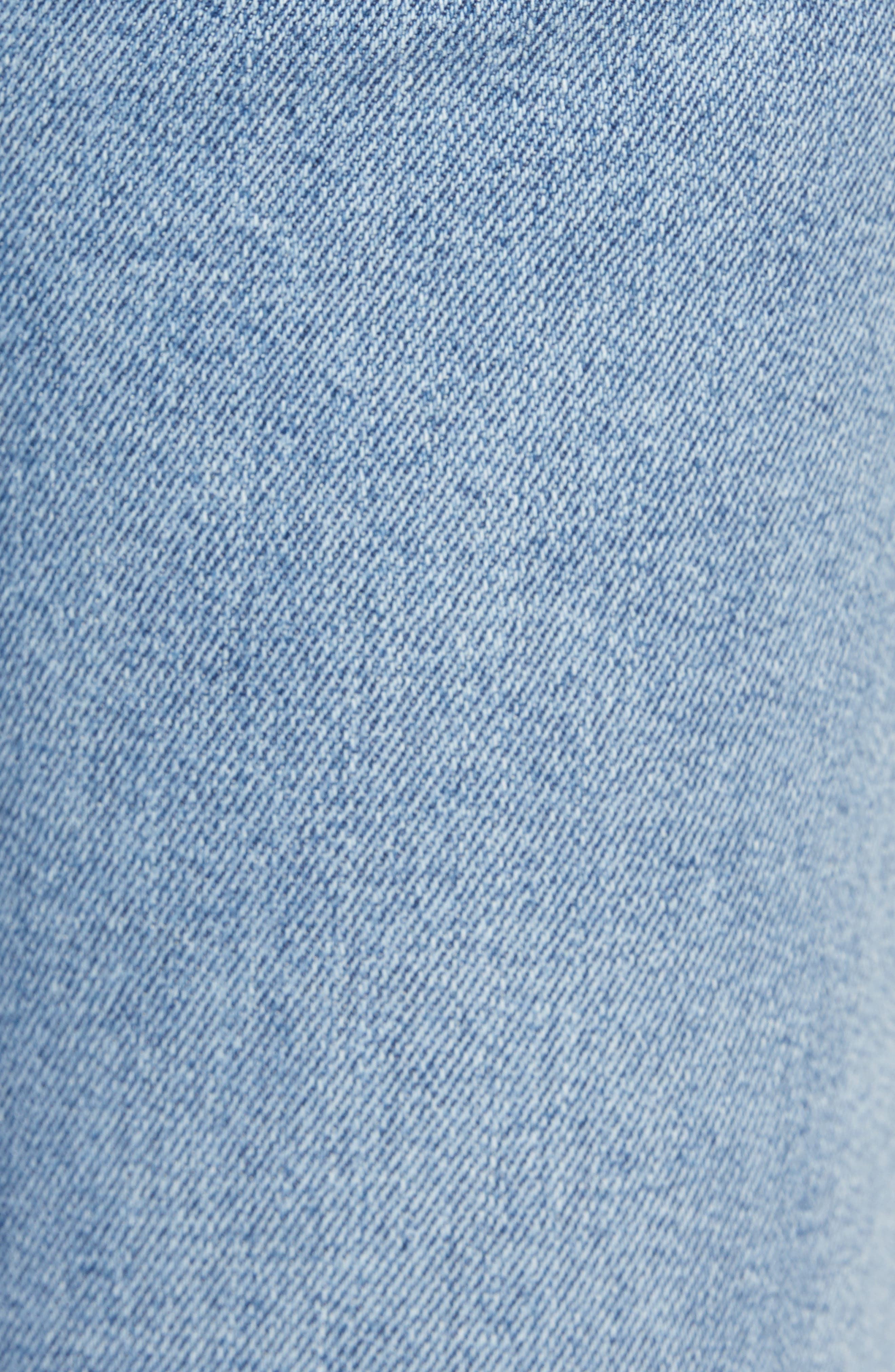 7 FOR ALL MANKIND<SUP>®</SUP>, High Waist Ankle Skinny Jeans, Alternate thumbnail 6, color, LUXE VINTAGE FLORA