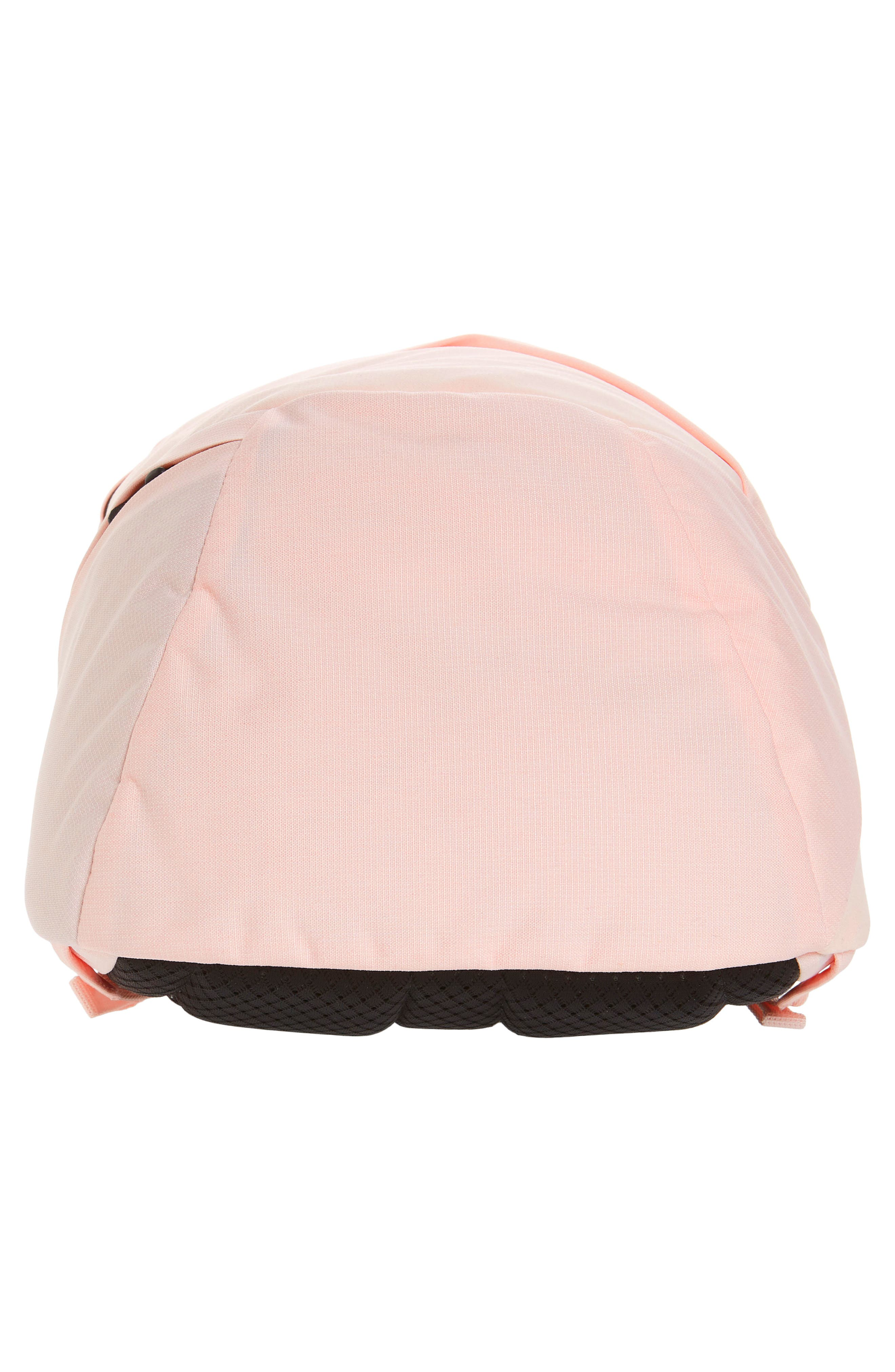 THE NORTH FACE, 'Isabella' Backpack, Alternate thumbnail 7, color, PINK LIGHT HEATHER/ TNF BLACK