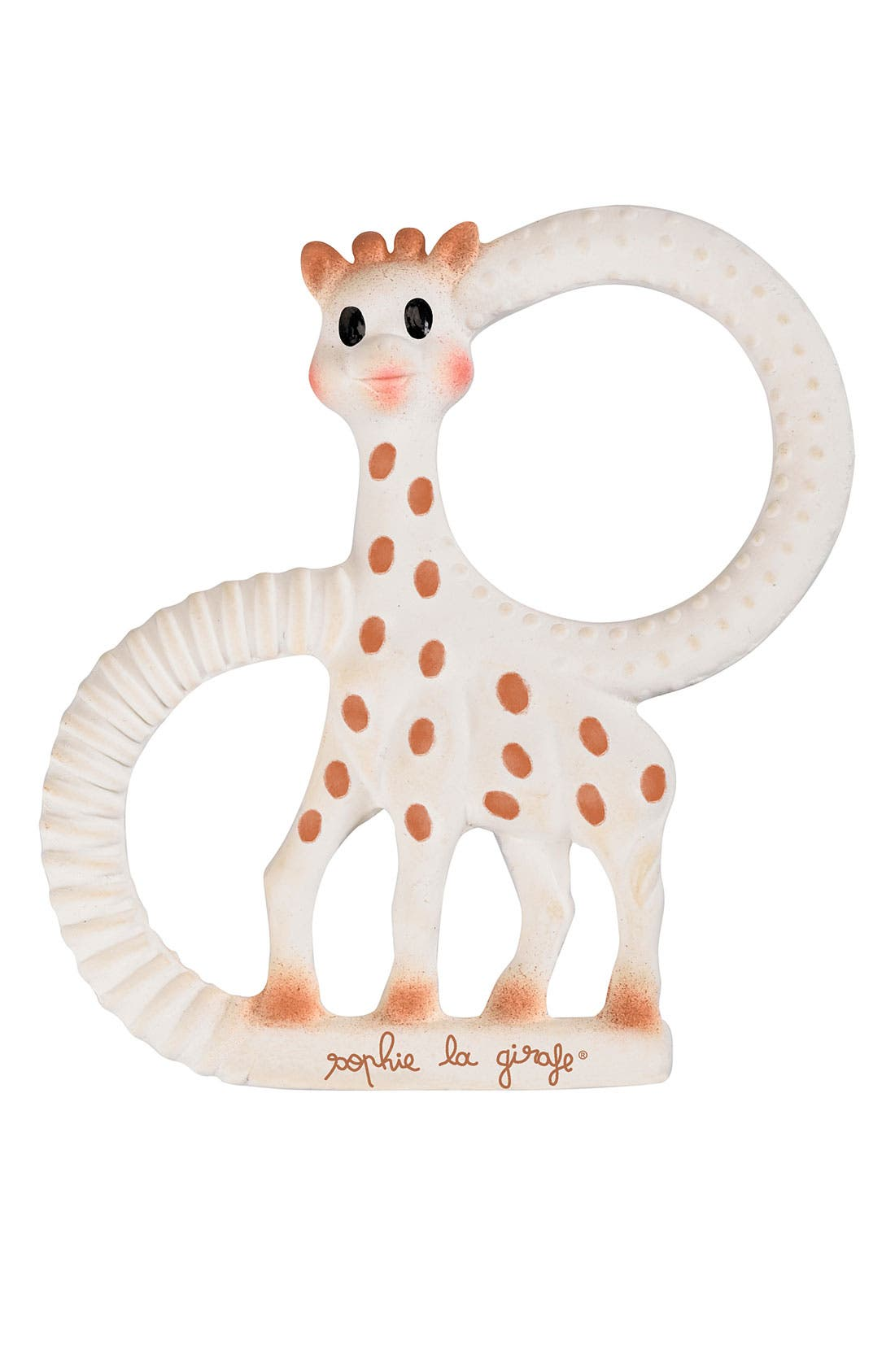 SOPHIE LA GIRAFE, 'So Pure' Teether, Main thumbnail 1, color, Multi