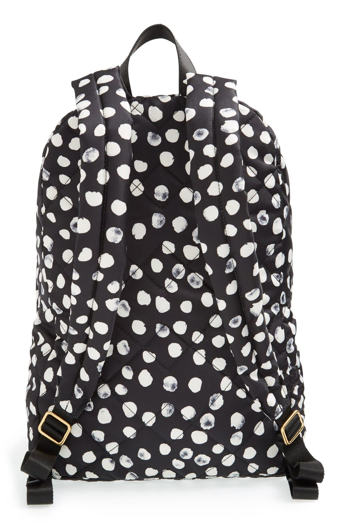 MARC JACOBS, MARC BY MARC JACOBS 'Crosby' Quilted Backpack, Alternate thumbnail 2, color, 001
