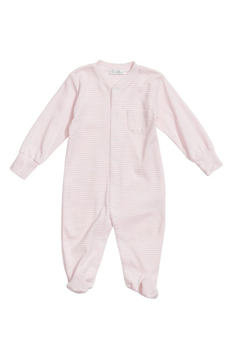 6224566aa Kissy Kissy Simple Stripes Footie (Baby Girls)