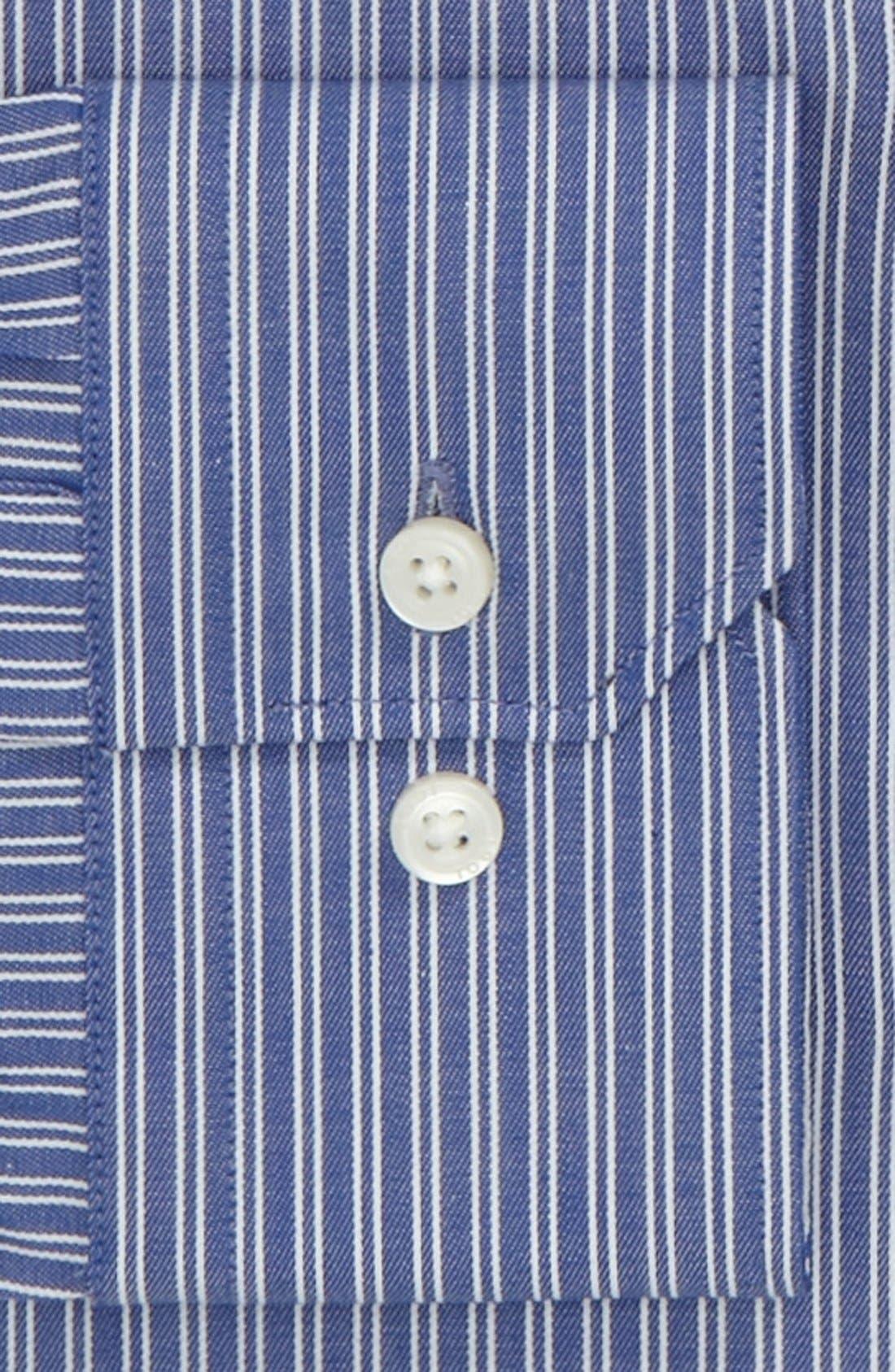 1901, Slim Fit Dress Shirt, Alternate thumbnail 2, color, 400