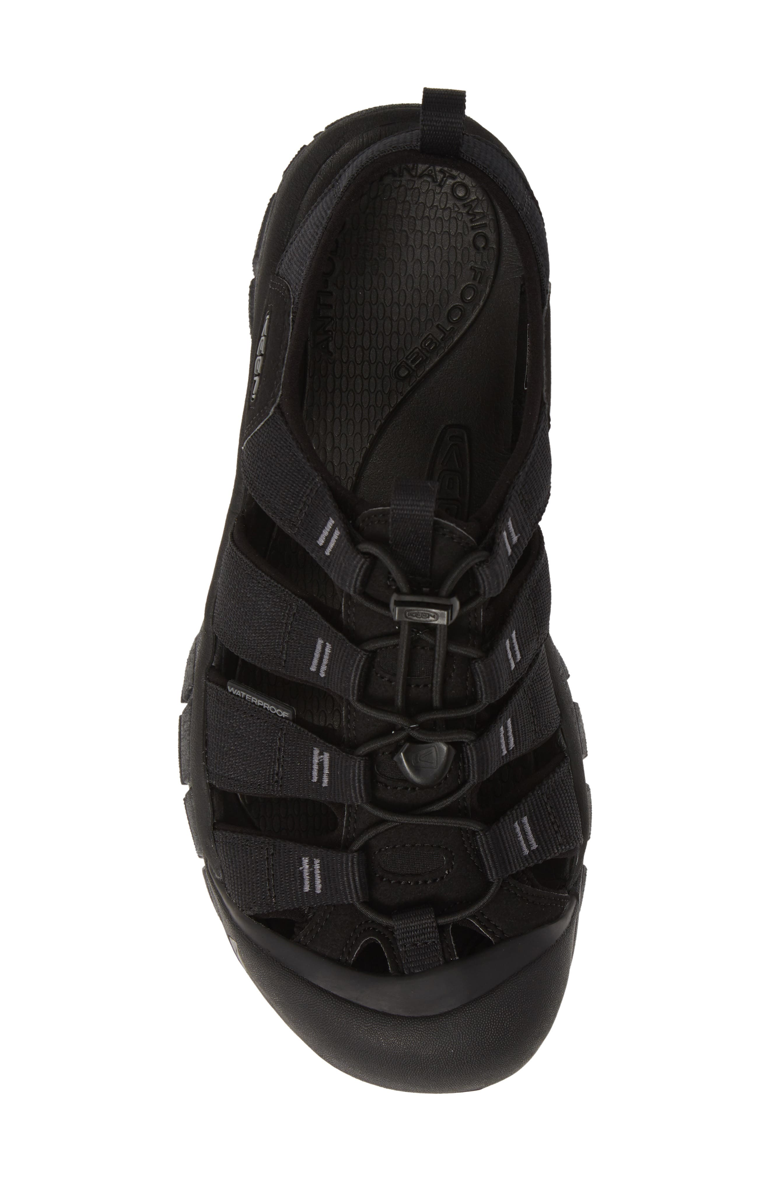 KEEN, 'Newport H2' Sandal, Alternate thumbnail 5, color, BLACK/ SWIRL OUTSOLE