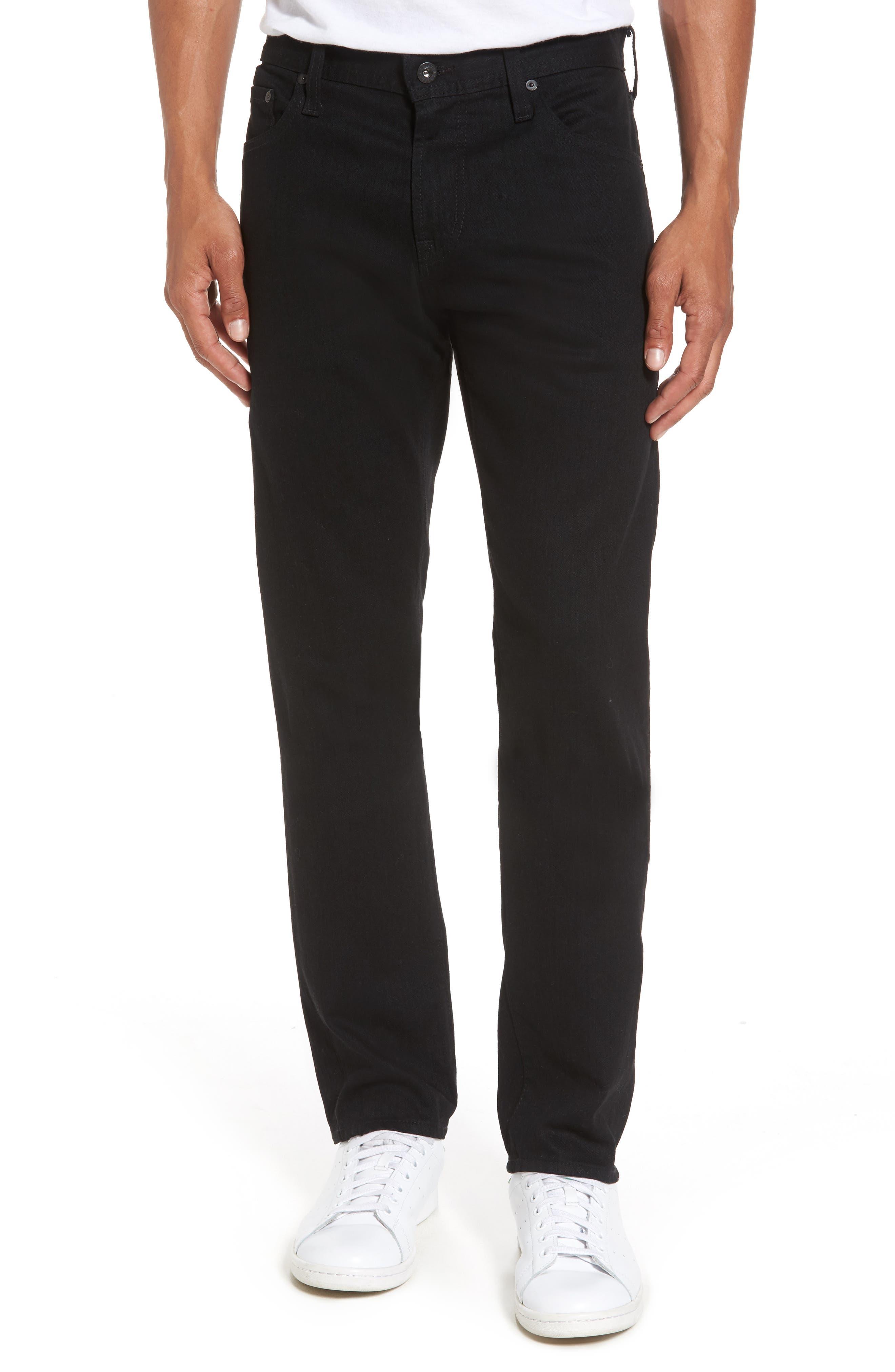 AG Tellis Slim Fit Jeans, Main, color, DEEP PITCH