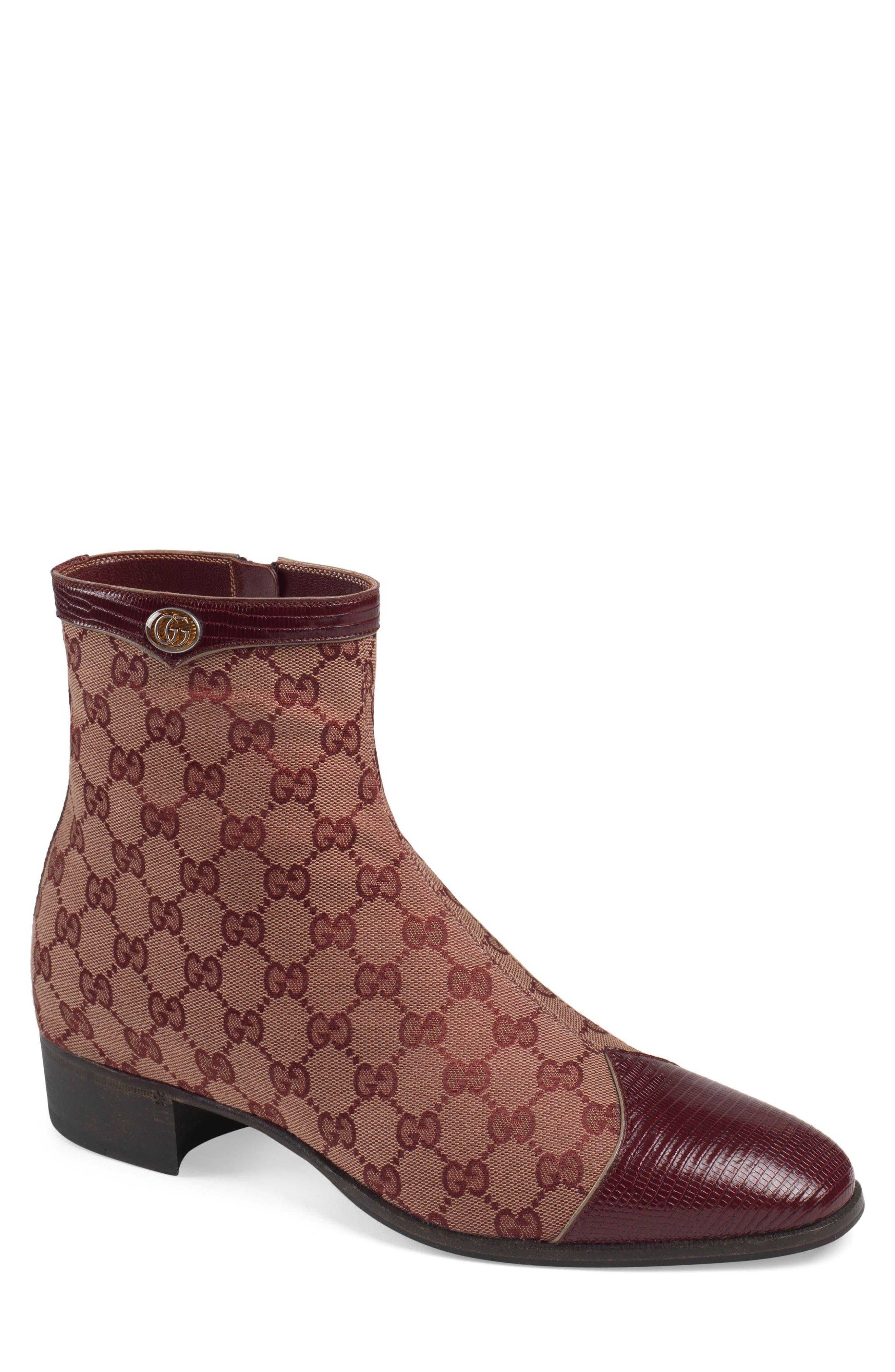 Gucci Plata Zip BootUS / 8.5UK - Brown