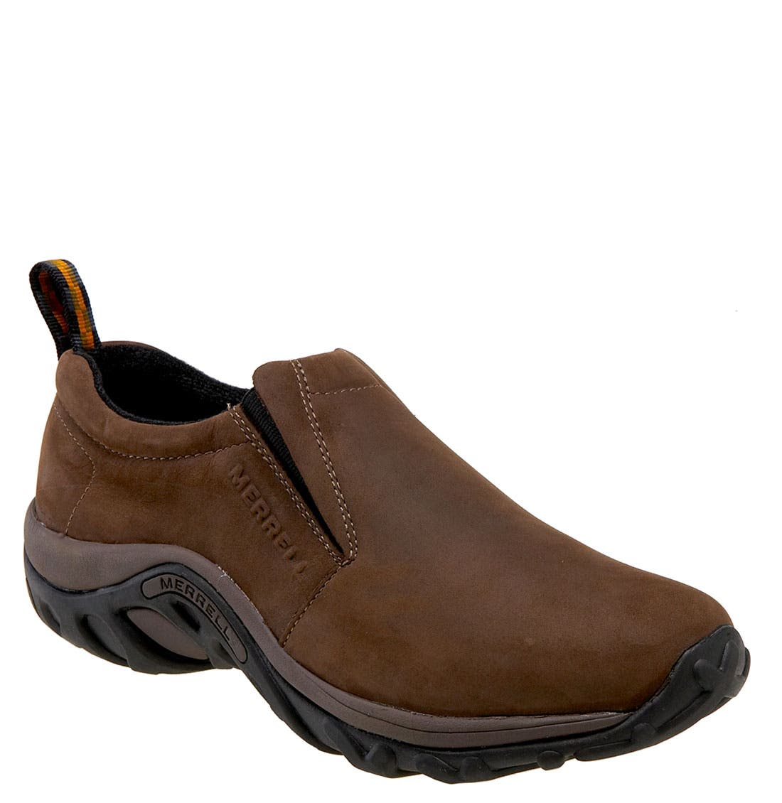 MERRELL 'Jungle Moc - Nubuck' Slip-On, Main, color, Brown