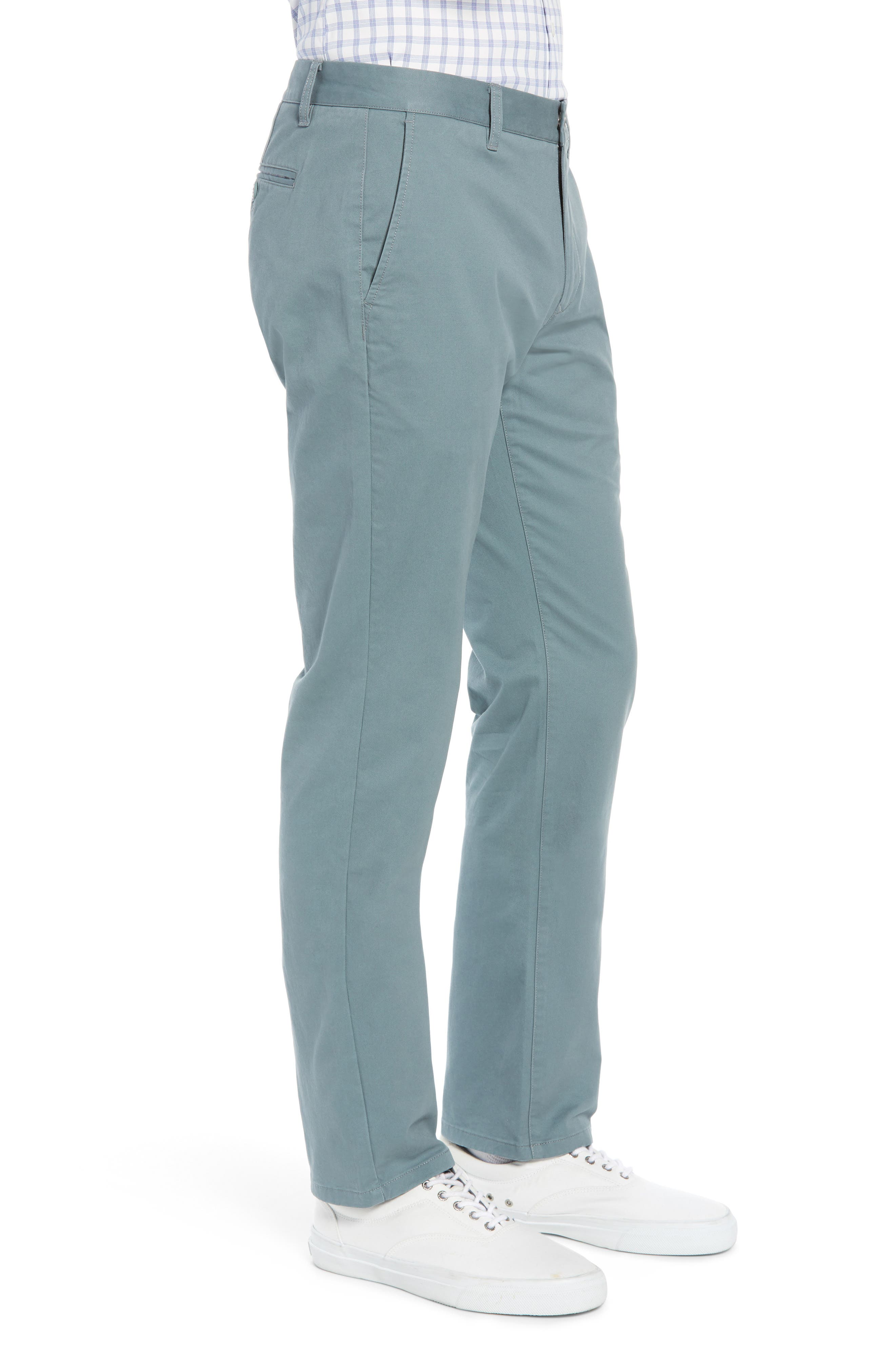 BONOBOS, Slim Fit Stretch Washed Chinos, Alternate thumbnail 4, color, NOPALES