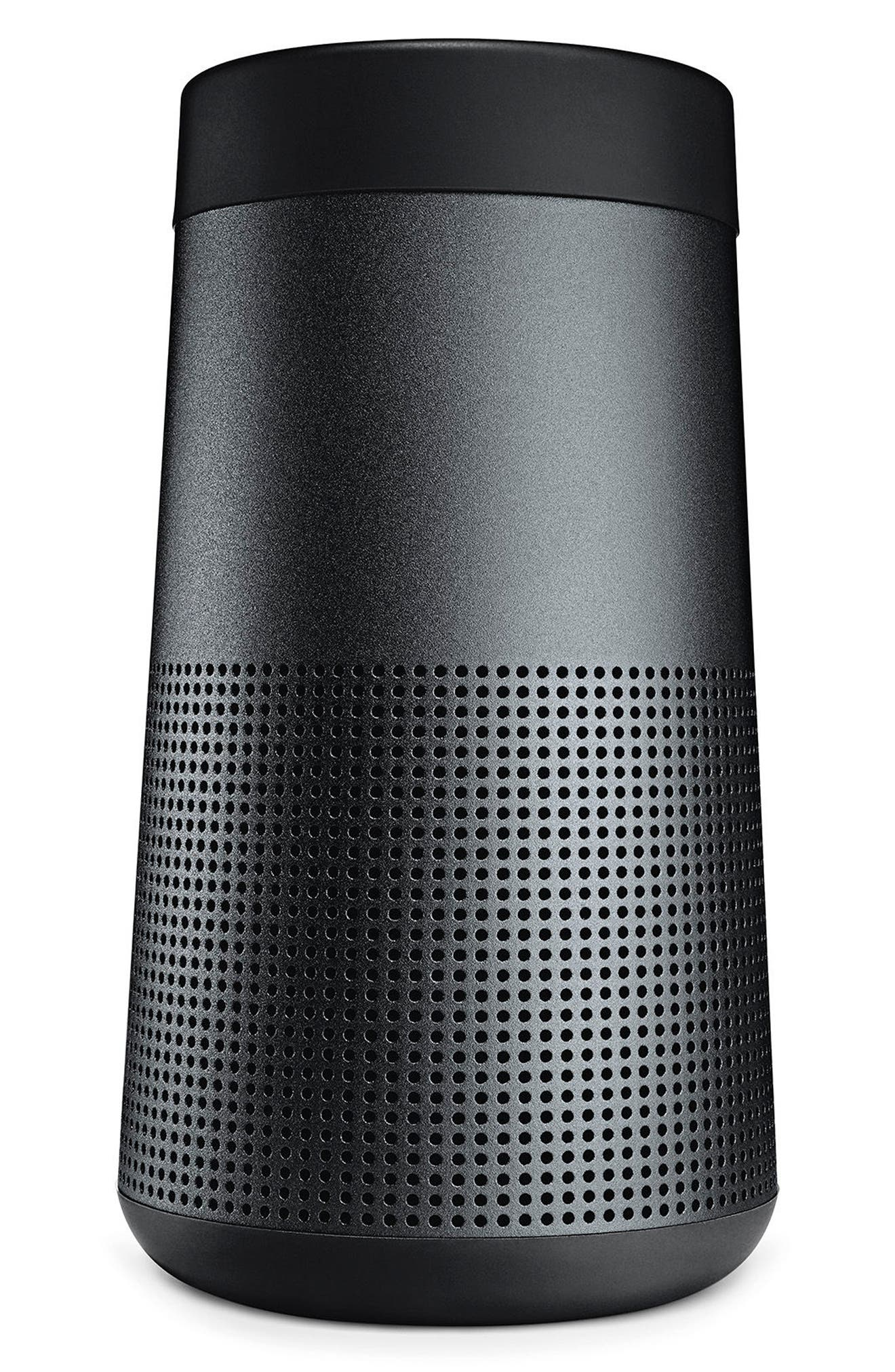 BOSE<SUP>®</SUP>, SoundLink<sup>®</sup> Revolve Bluetooth<sup>®</sup> Speaker, Alternate thumbnail 5, color, BLACK
