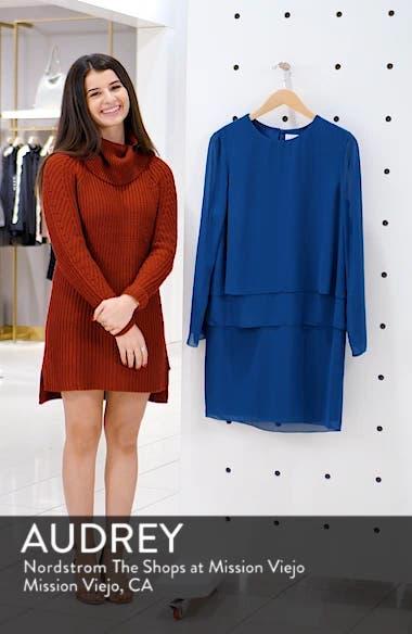 Layered Popover Chiffon Dress, sales video thumbnail