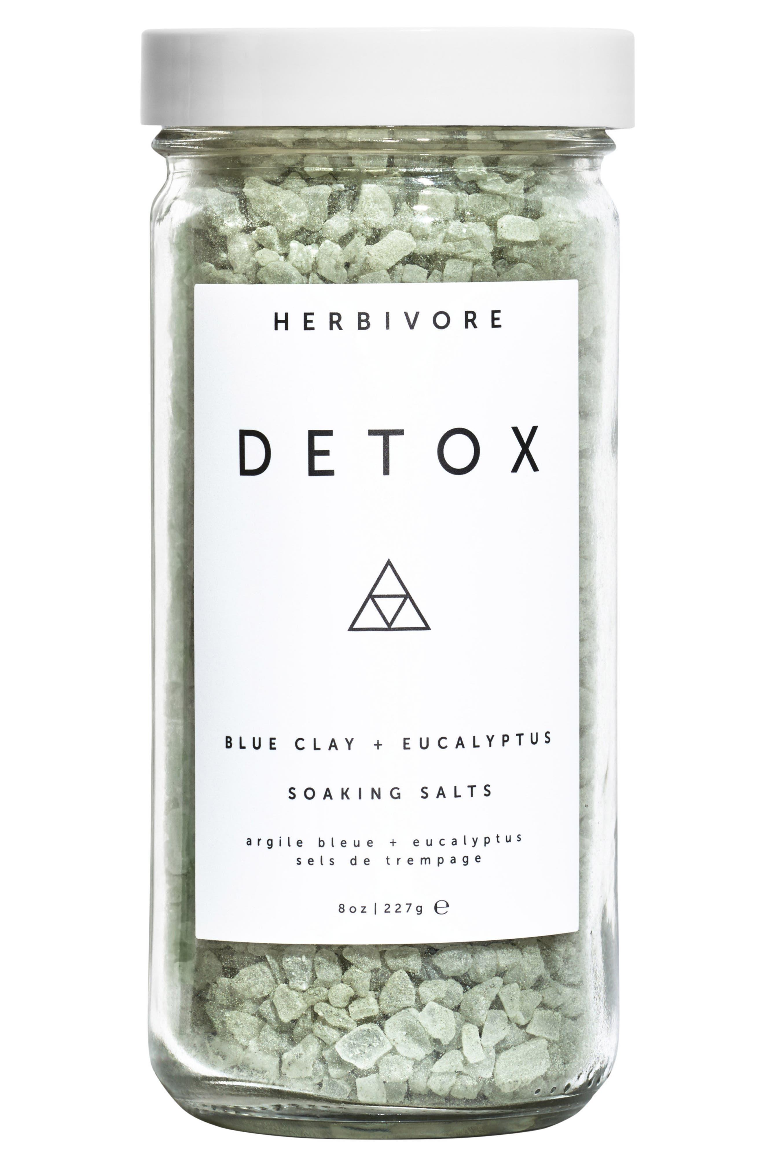 HERBIVORE BOTANICALS, Detox Bath Salts, Main thumbnail 1, color, NONE