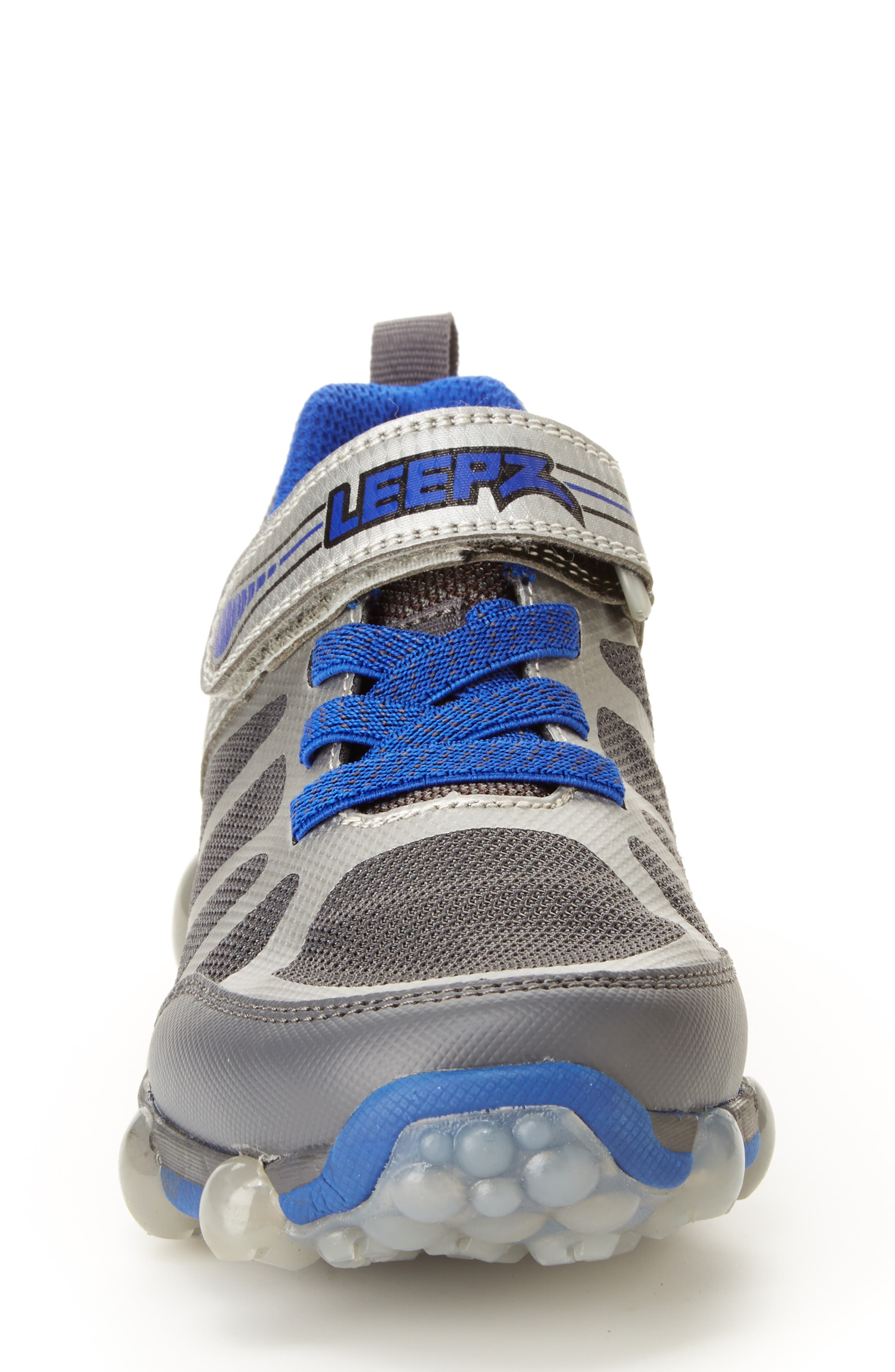 STRIDE RITE, Leepz 3.0 Light-Up Sneaker, Alternate thumbnail 3, color, 021